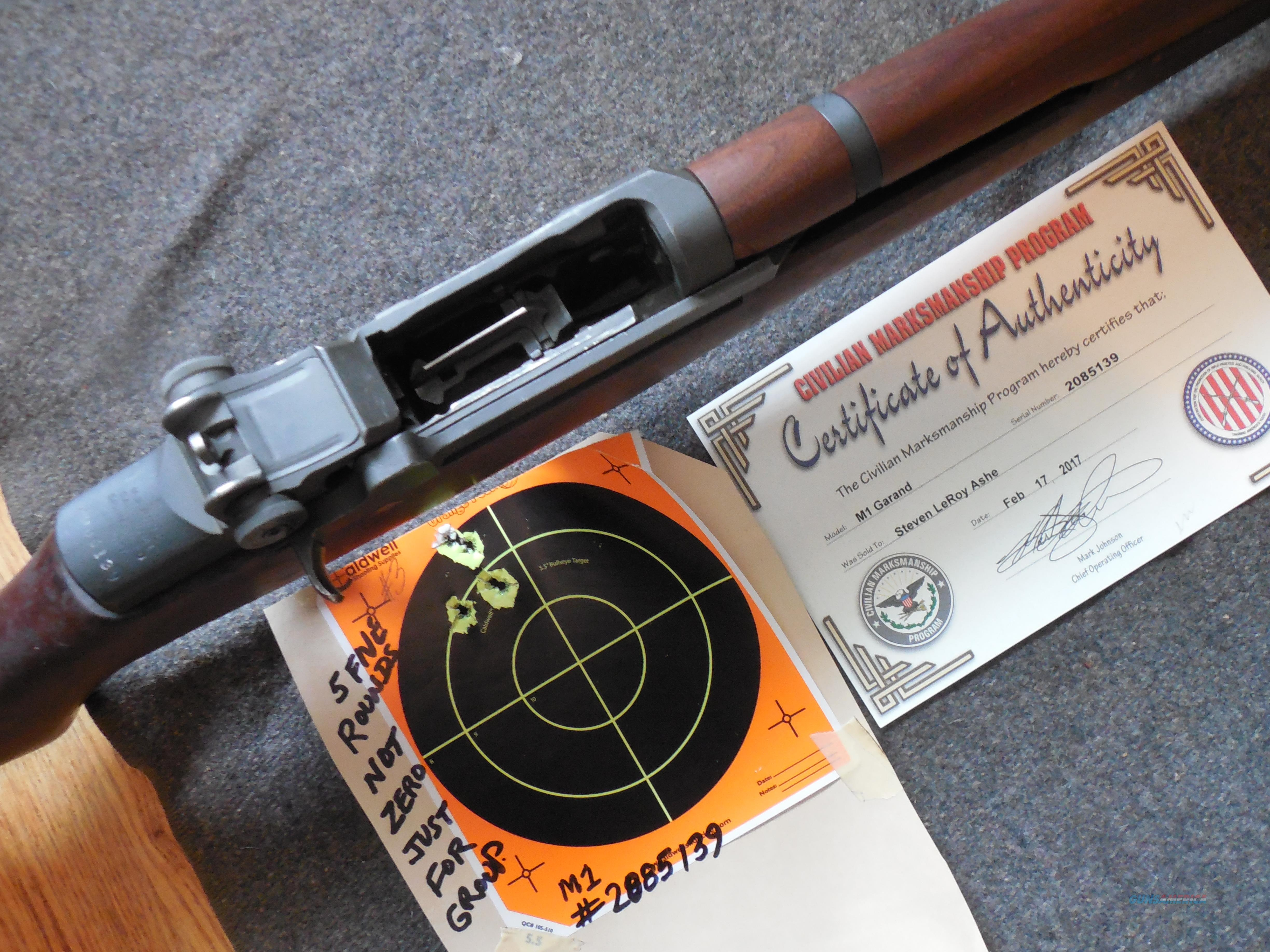 Do Layaway on this Tack Driver M1 Rifle  Guns > Rifles > Military Misc. Rifles US > M1 Garand