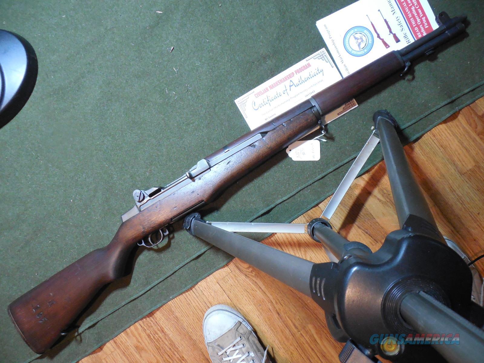 WWII Pre-D-Day Springfield M1 Rifle  Guns > Rifles > Military Misc. Rifles US > M1 Garand