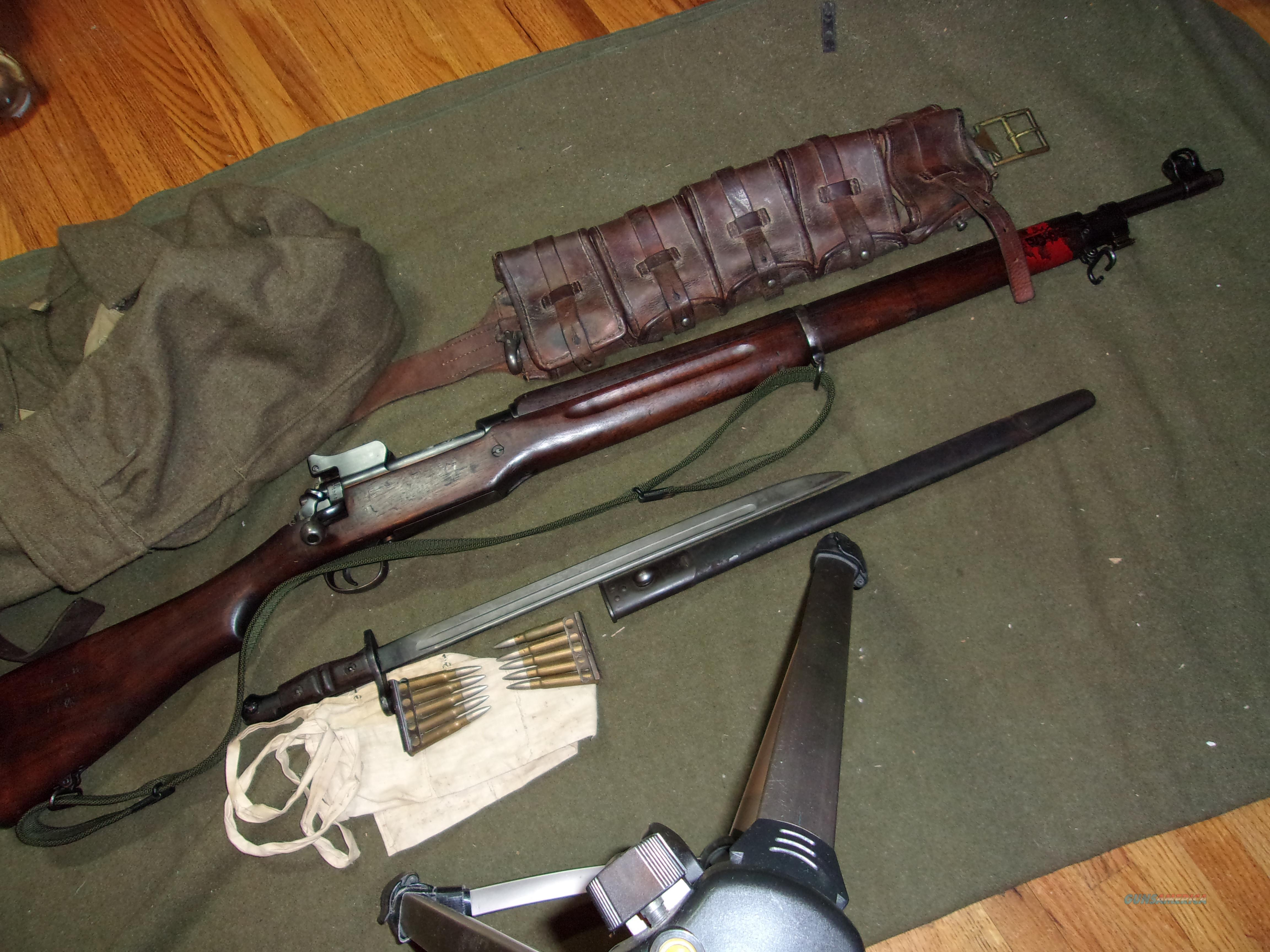 Lend-Lease US Model of 1917 with accessories layout  Guns > Rifles > Military Misc. Rifles US > Model 1917 Variants