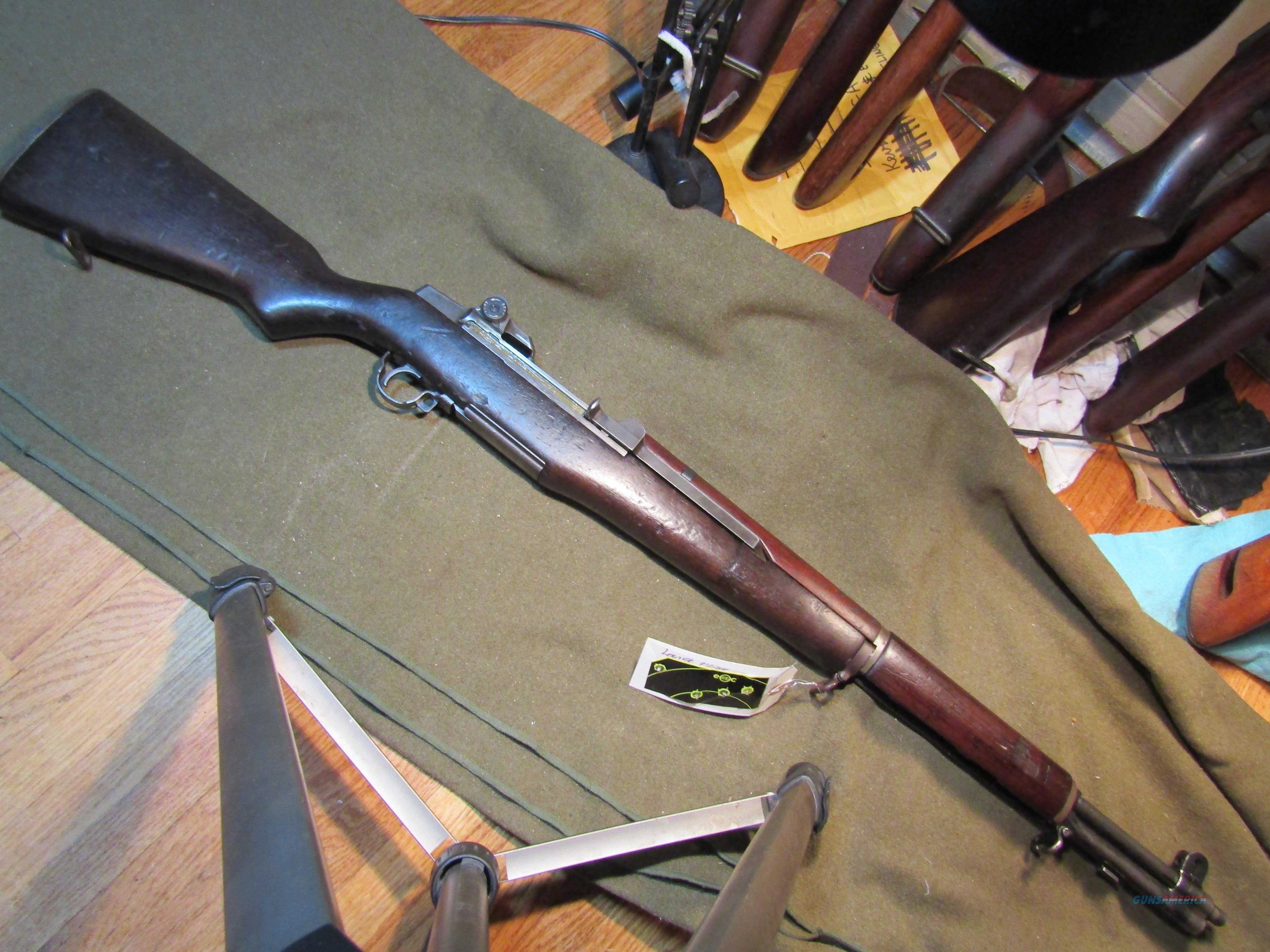 WWII documented M1 Rifle  Guns > Rifles > Military Misc. Rifles US > M1 Garand