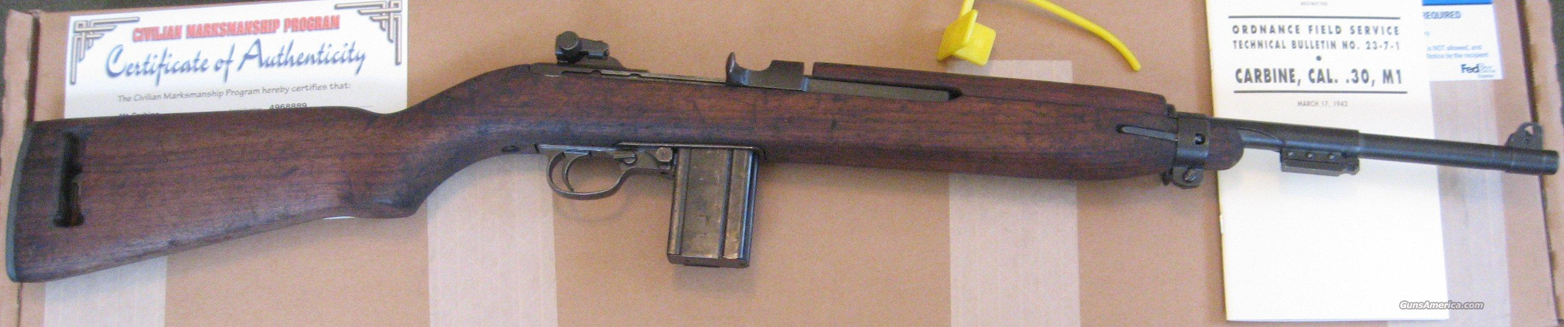 "M1 Carbine, Early ""I"" slot in stock  Guns > Rifles > Military Misc. Rifles US > M1 Carbine"