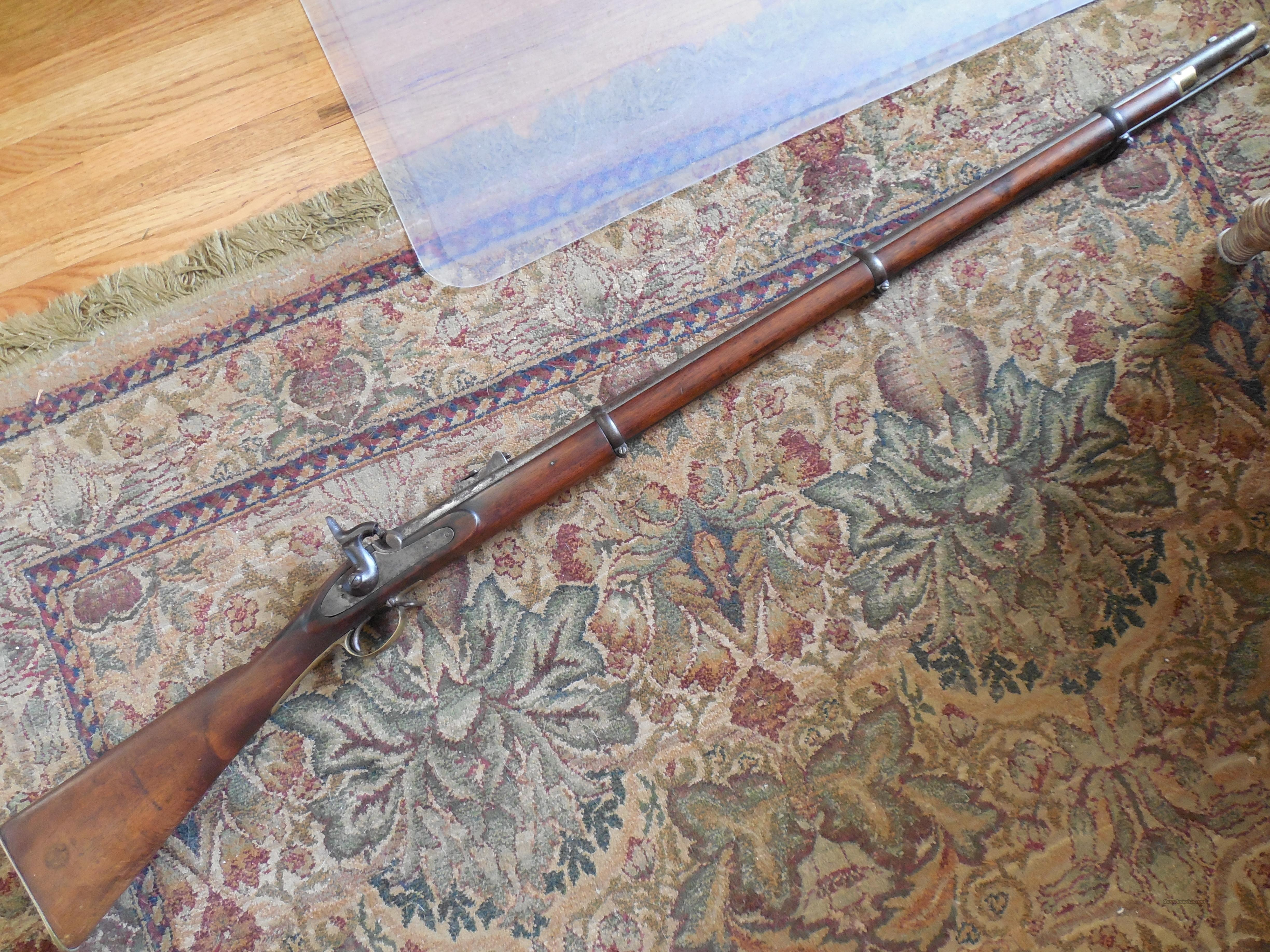 577cal British Pattern 1853 Rifle Musket For Sale