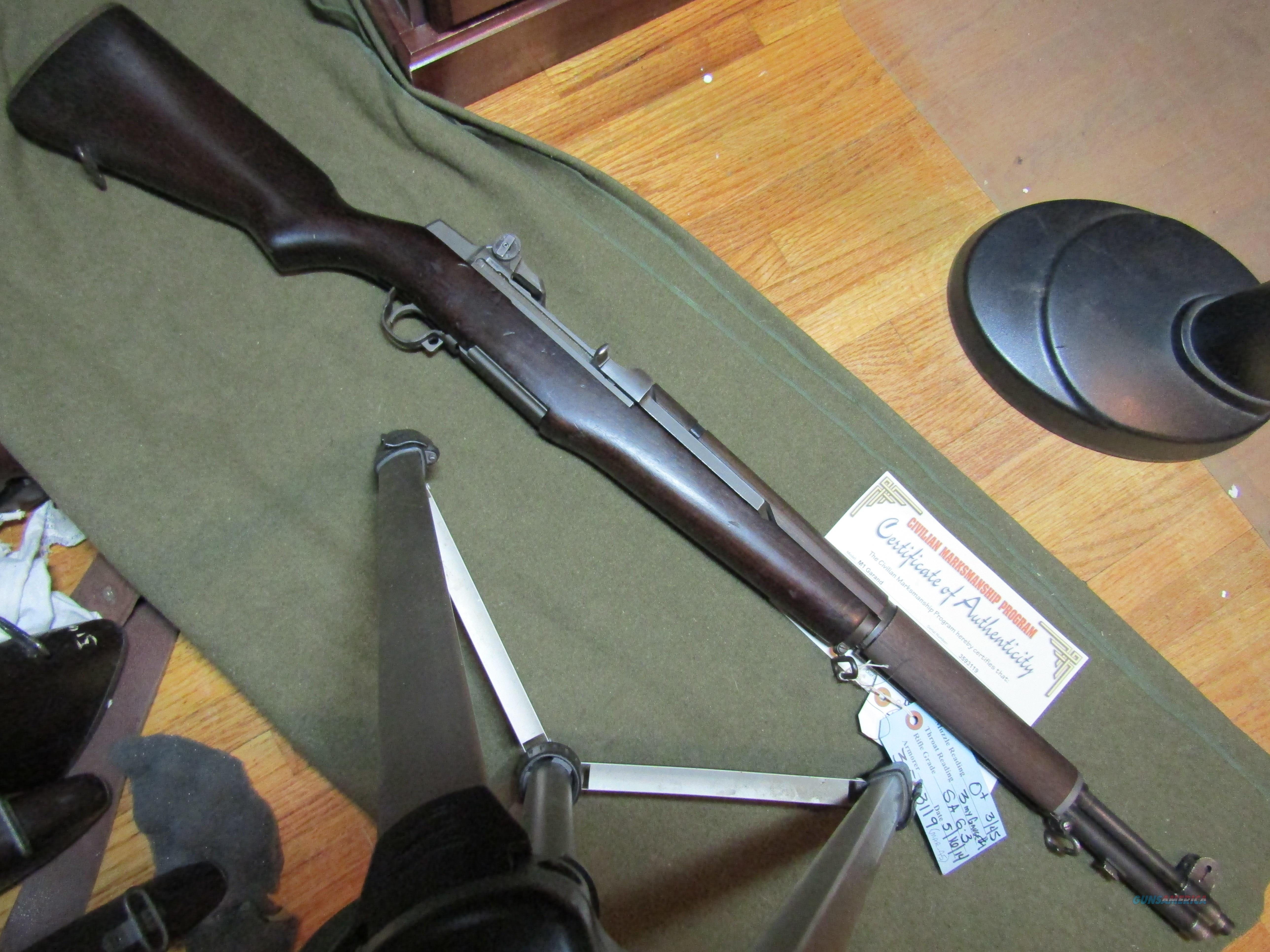 Correct parts M1 Garand Rifle, WWII  Guns > Rifles > Military Misc. Rifles US > M1 Garand