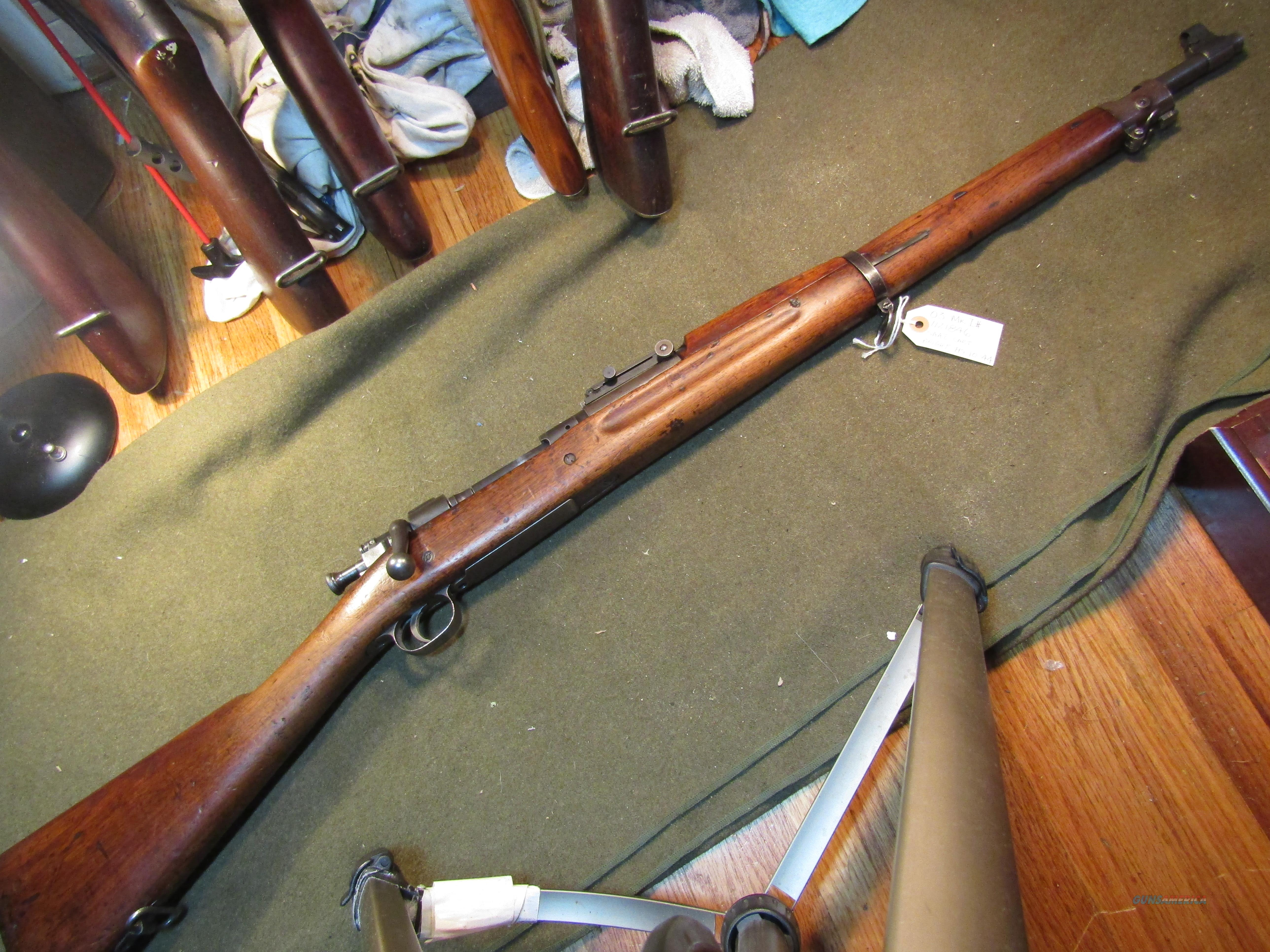 WWI  Secret Weapon, Re USED for WWII  Guns > Rifles > Military Misc. Rifles US > 1903 Springfield/Variants