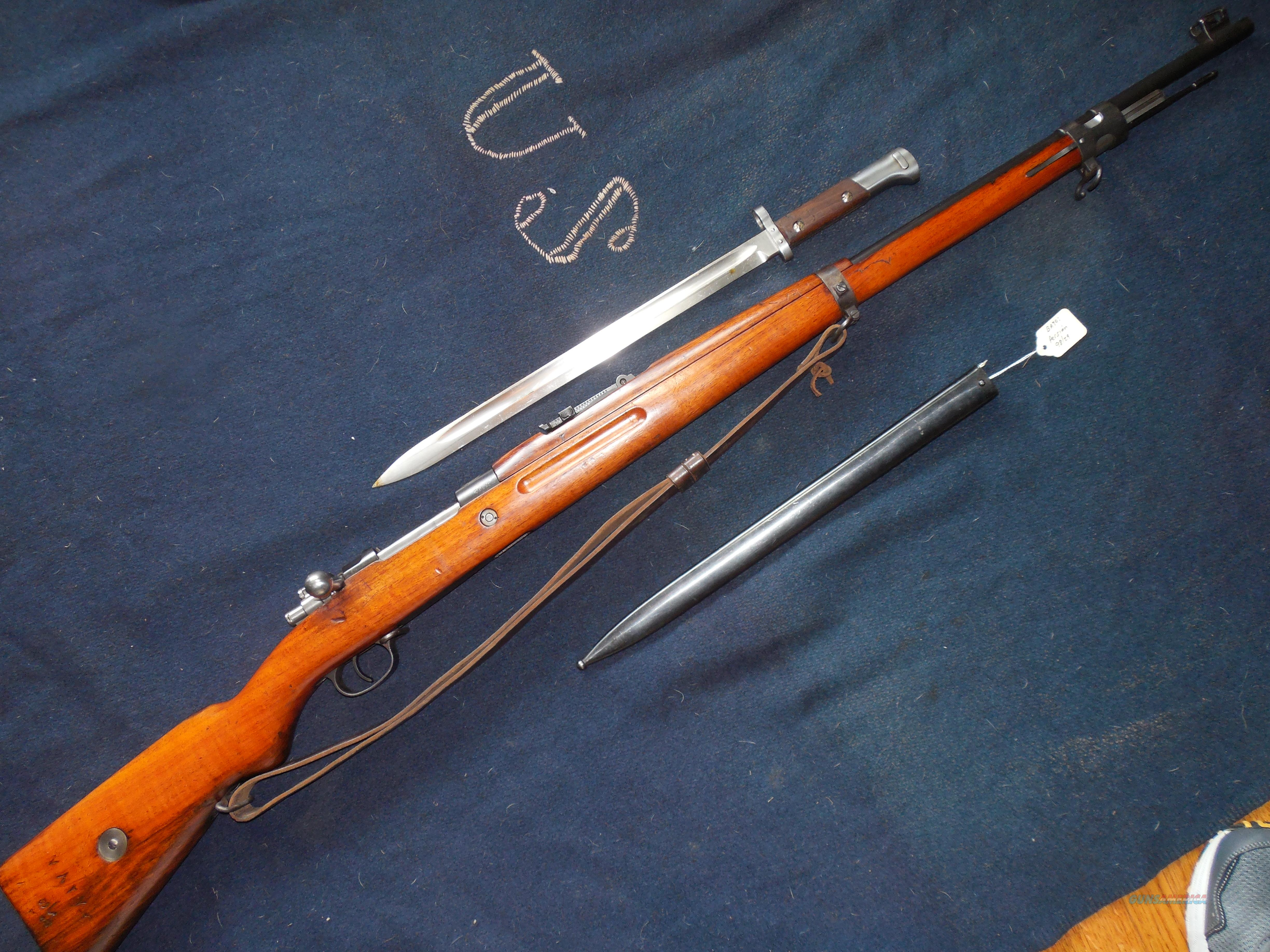 Persian 98/29 ALL MATCHING INCL bayonet  Guns > Rifles > Military Misc. Rifles Non-US > Other
