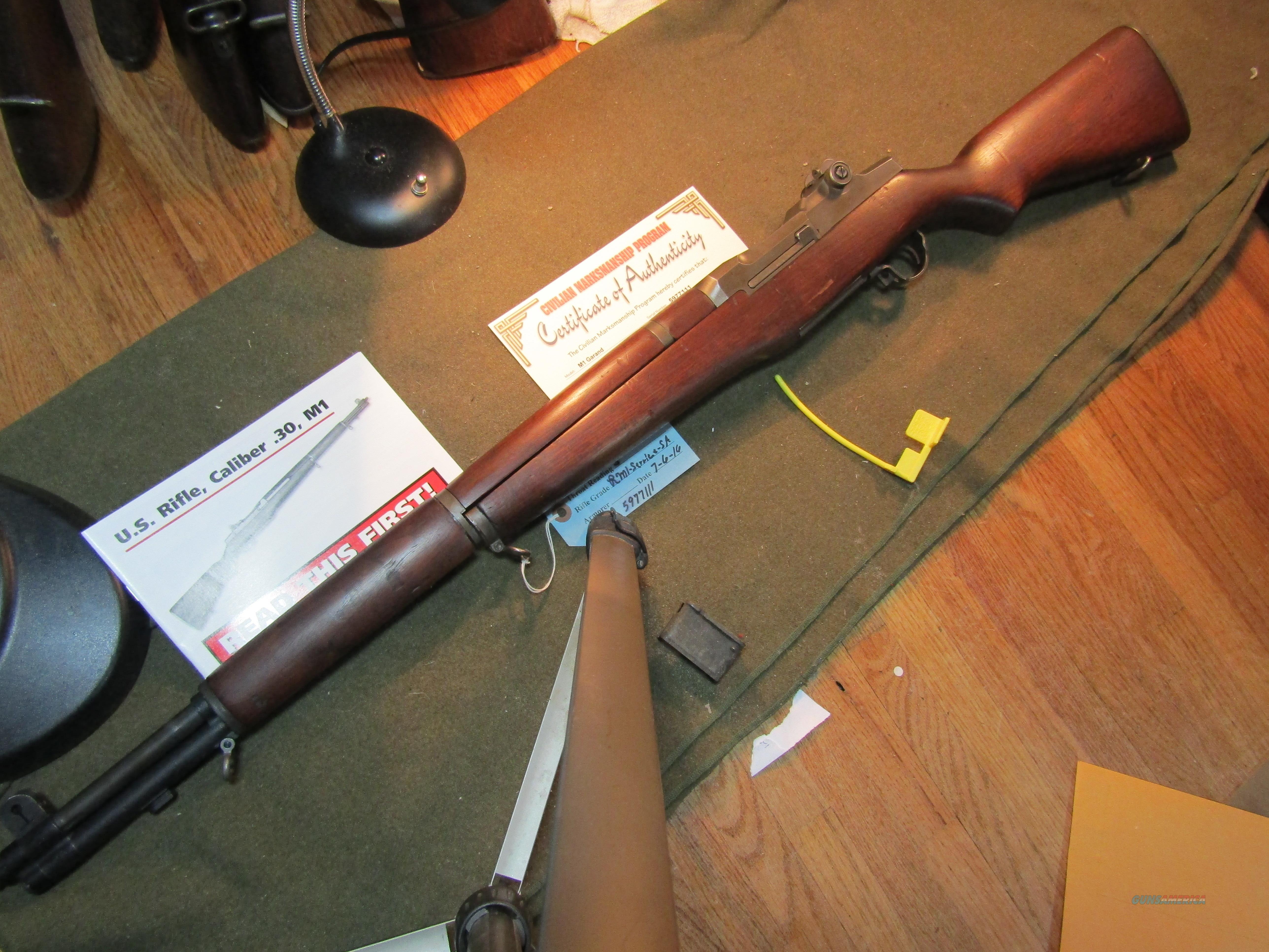 One of the Late, Great M1 Rifles, Made 1956  Guns > Rifles > Military Misc. Rifles US > M1 Garand