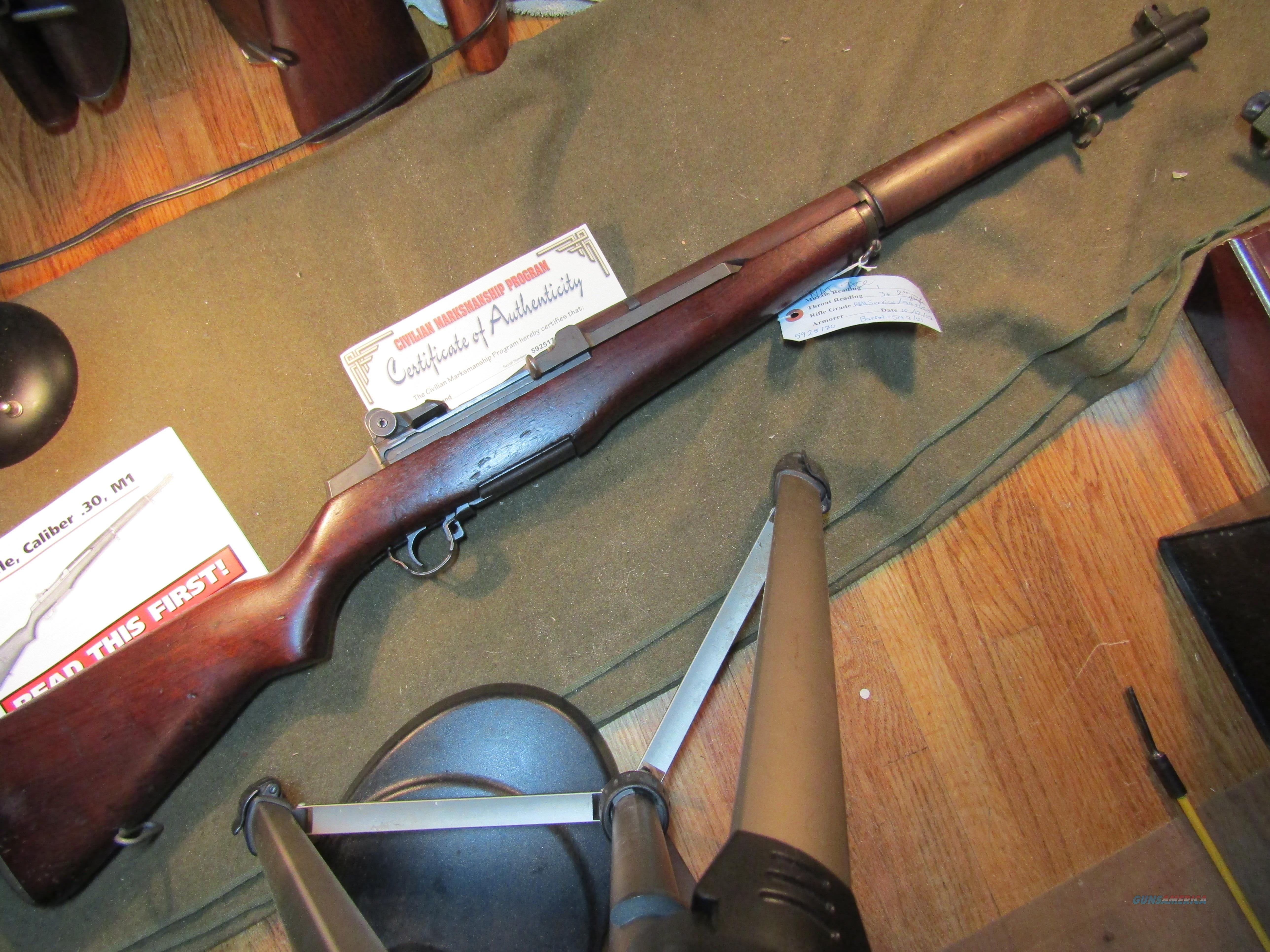 M1 Mid 1951 for Korean War  Guns > Rifles > Military Misc. Rifles US > M1 Garand