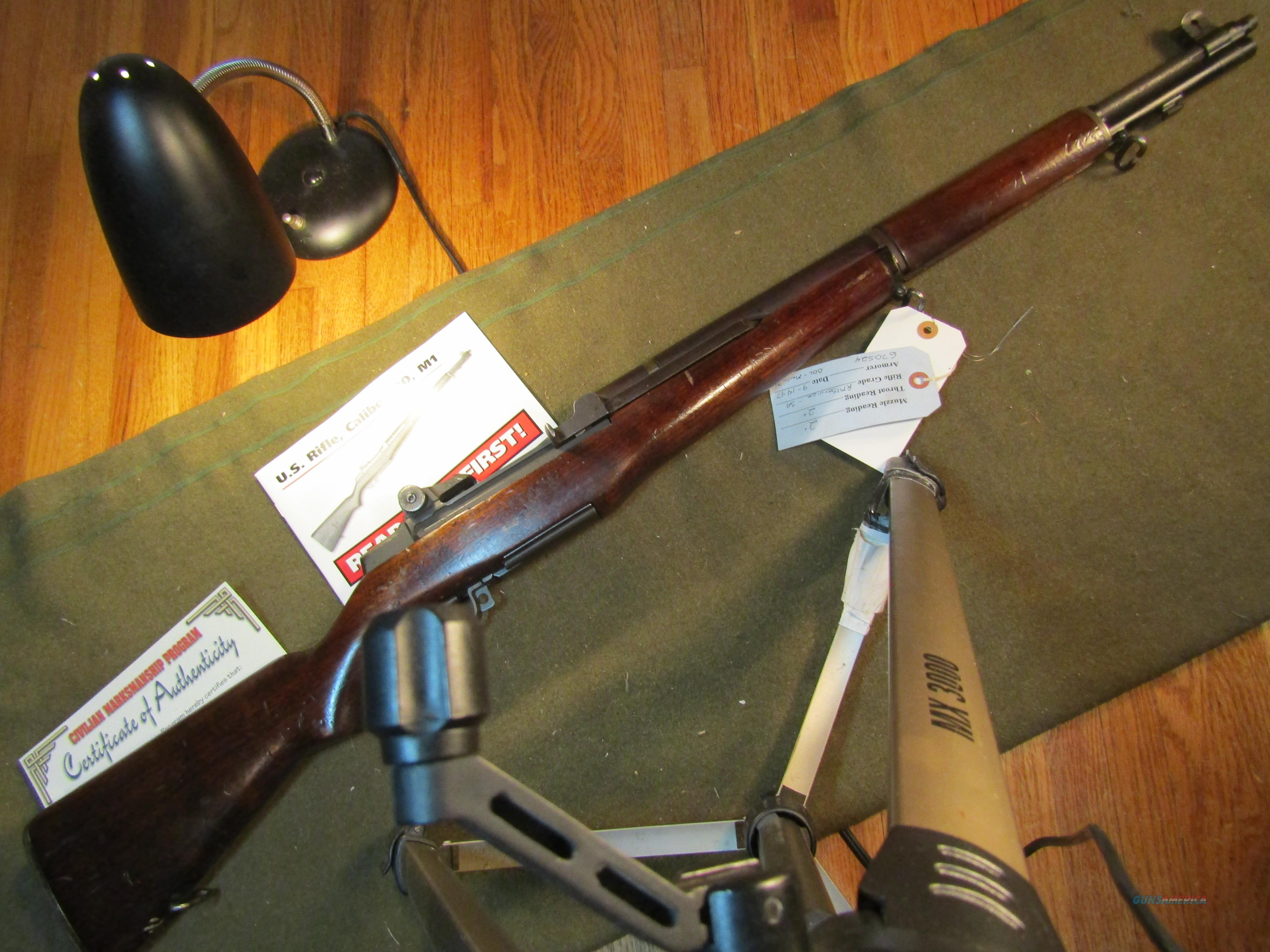 Don't wait to order for the Holidays!!  Guns > Rifles > Military Misc. Rifles US > M1 Garand