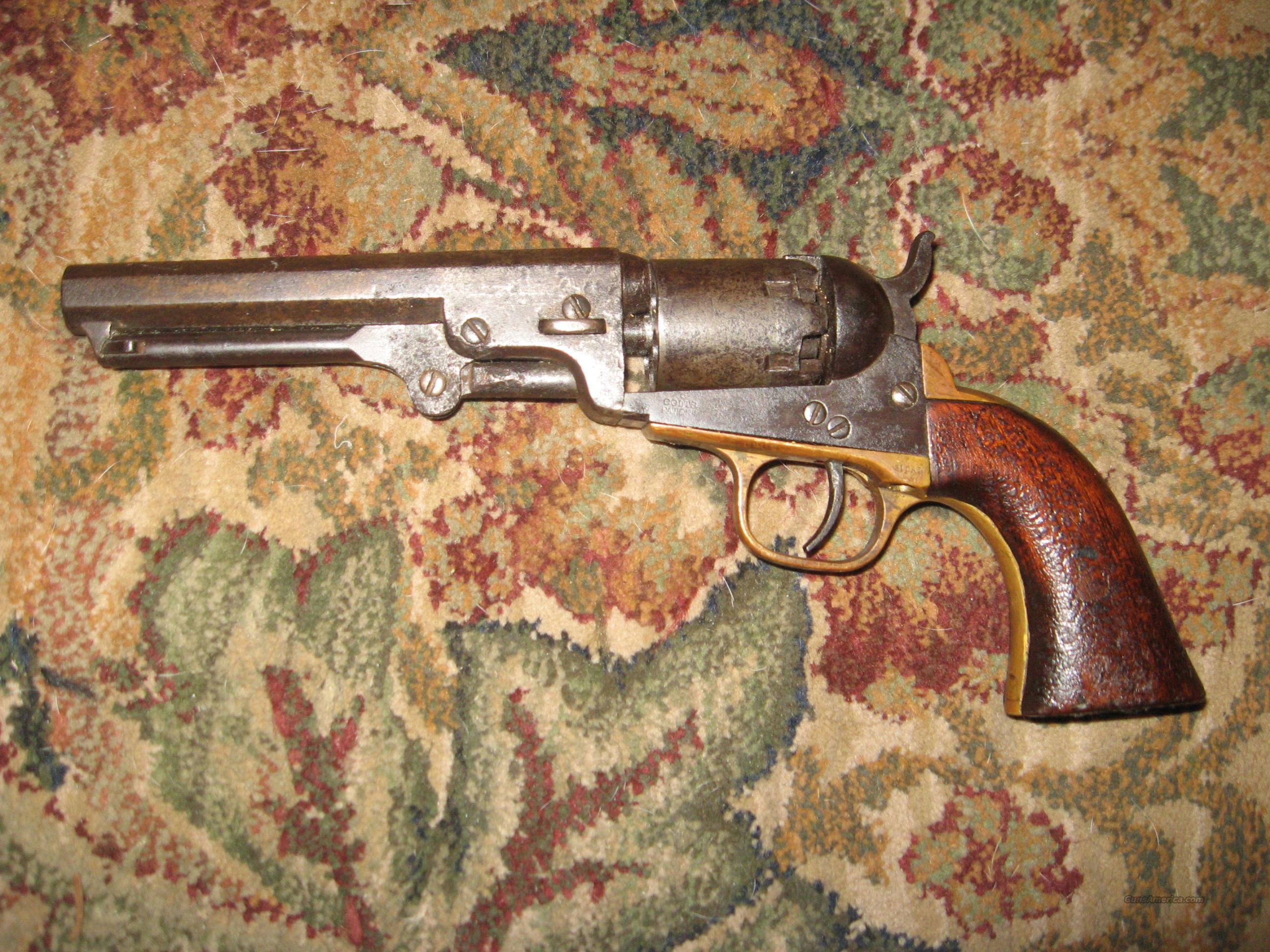 Colt .31 cal. percussion, Original  Guns > Pistols > Antique (Pre-1899) Pistols - Perc. Misc.