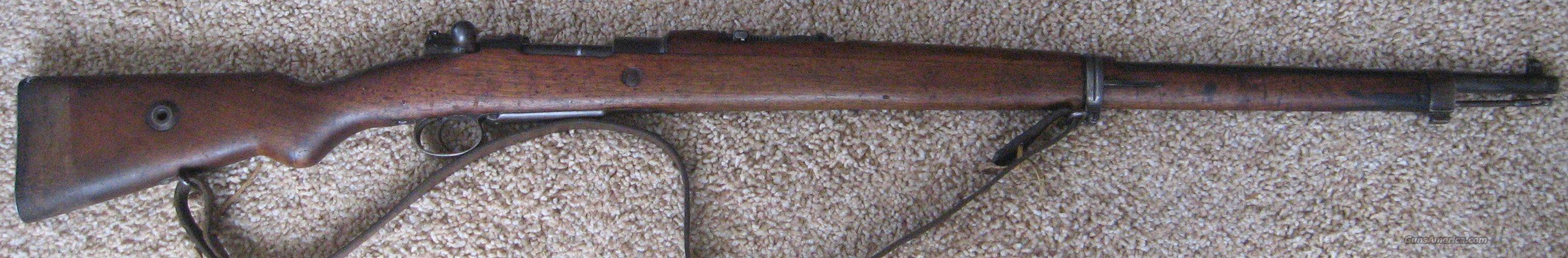 Model 1893 Mauser-Oberndorf military  Guns > Rifles > Antique (Pre-1899) Rifles - Ctg. Misc.