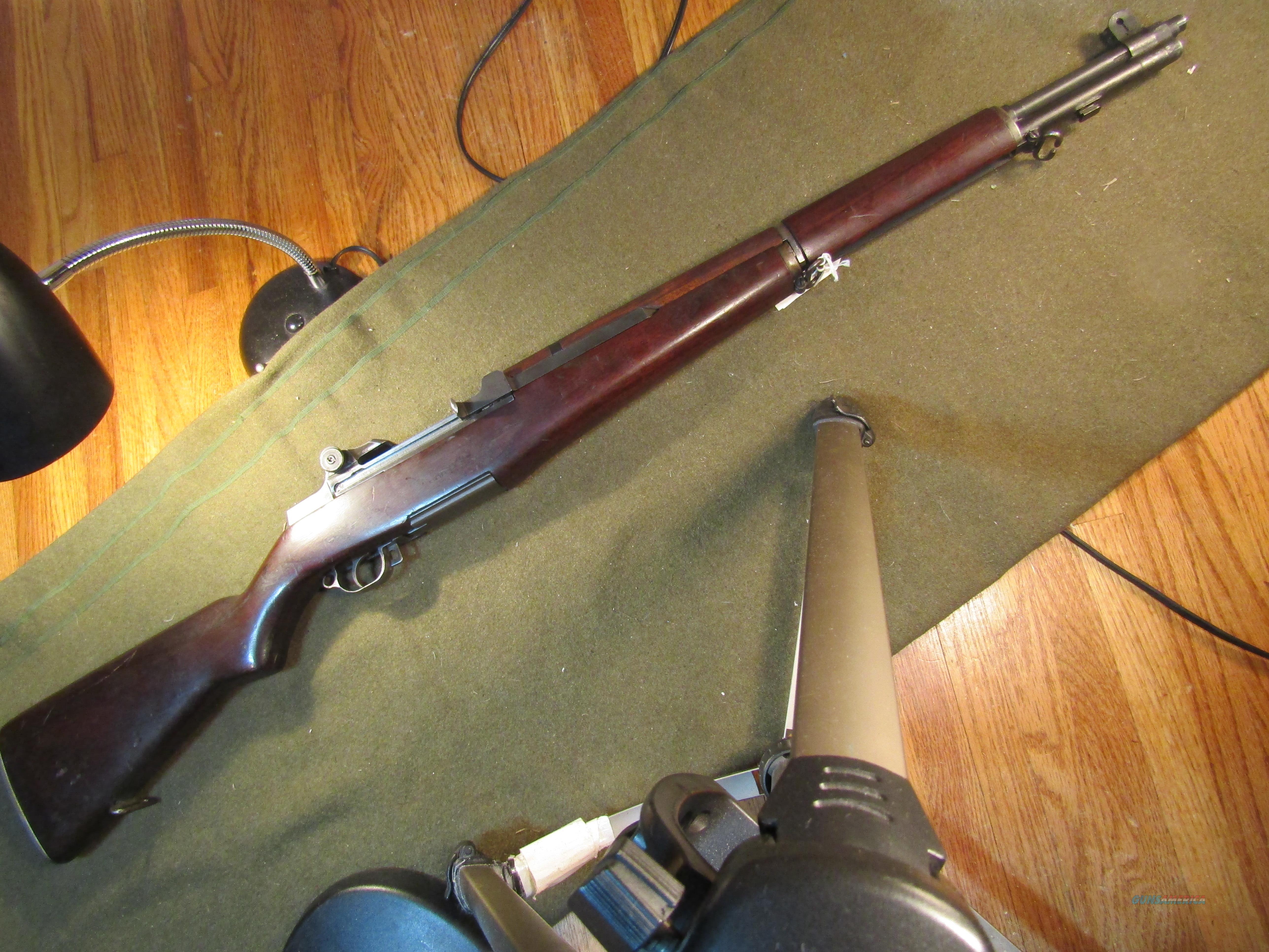 Made Sept. '41 Originally Was Gas Trap Model  Guns > Rifles > Military Misc. Rifles US > M1 Garand