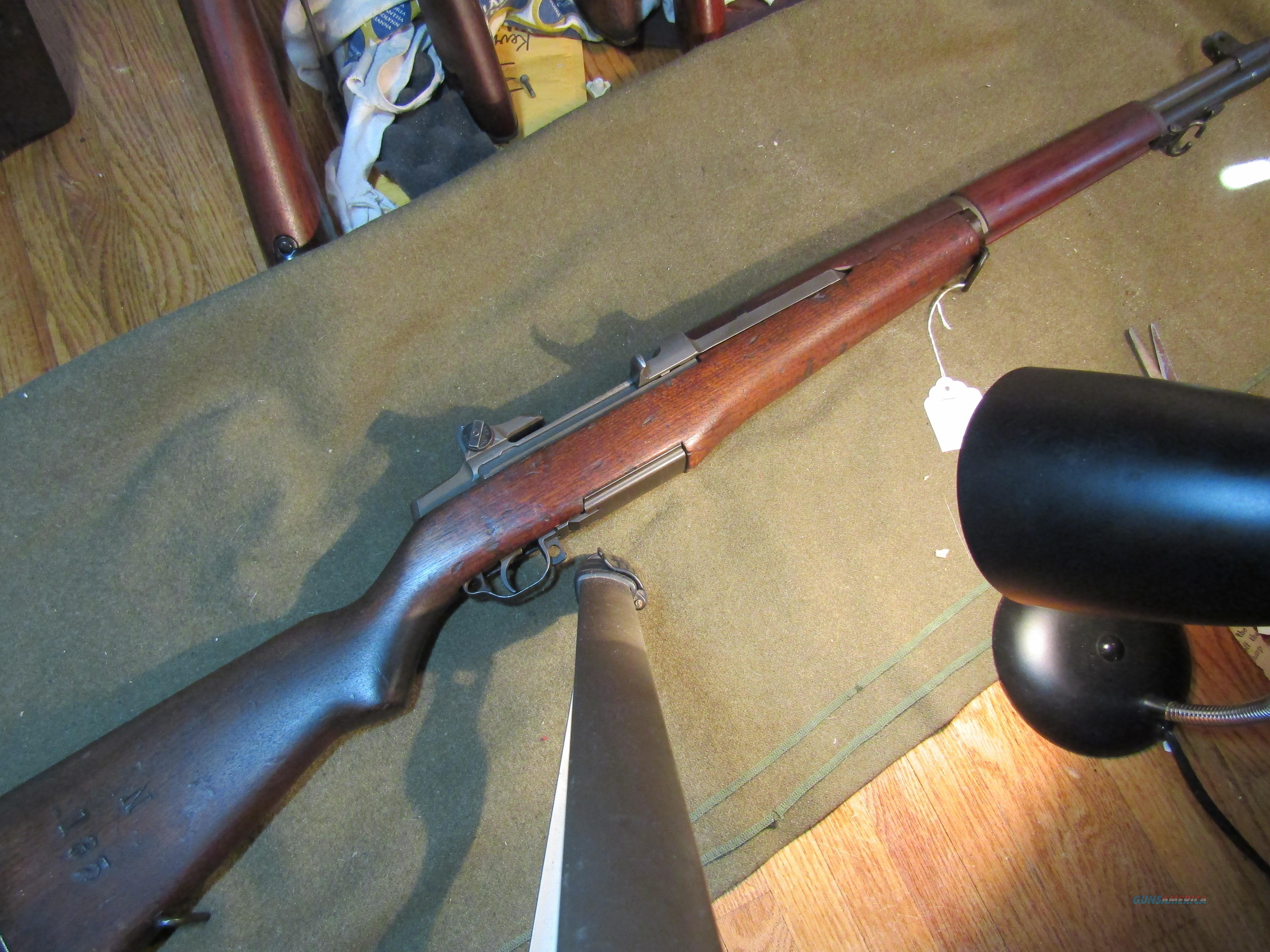 World War II M1 with NFR cartouche  Guns > Rifles > Military Misc. Rifles US > M1 Garand
