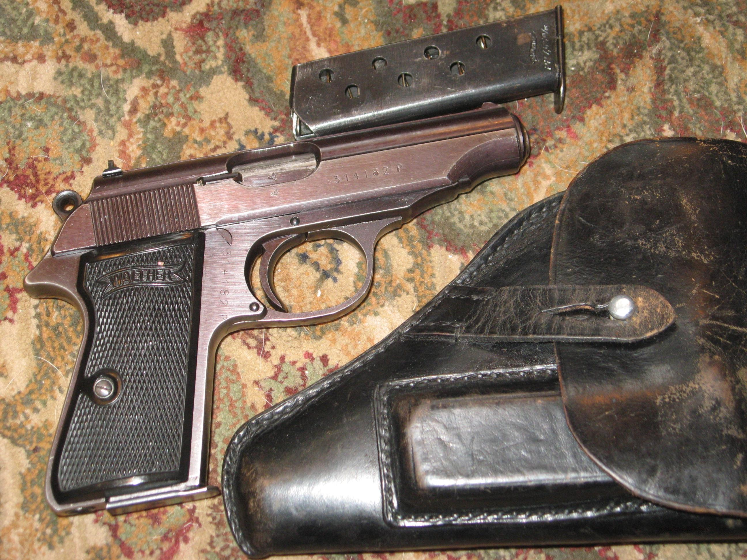 Third Reich Marked Walther Rig  Guns > Pistols > Walther Pistols > Pre-1945 > PP