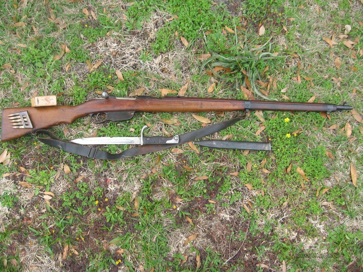 Mannlicher Rifle, Austrian Mod. 1895 long rifle  Guns > Rifles > Military Misc. Rifles Non-US > Other