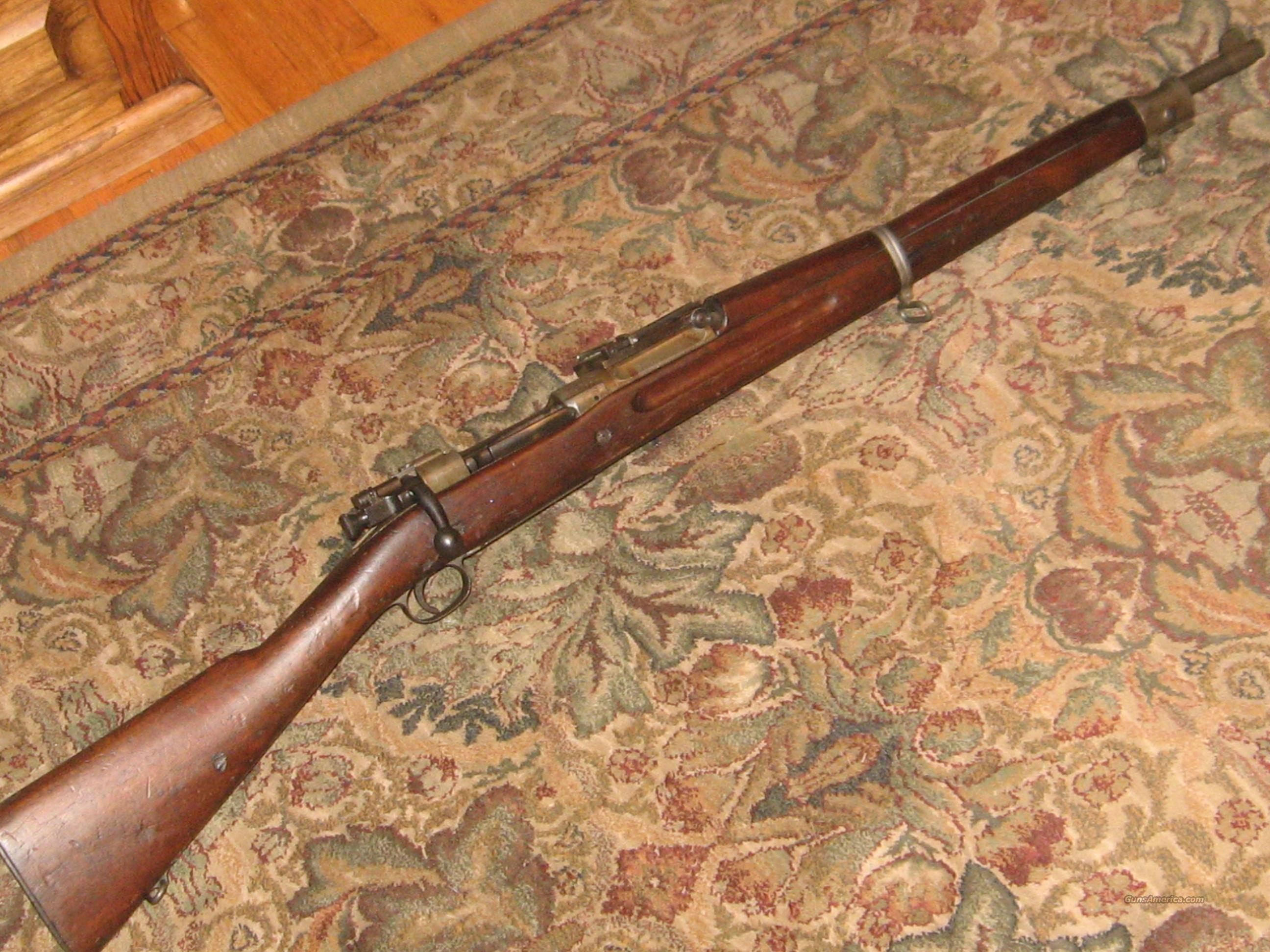 High Number Rock Island '03 w/Finger Groove stock  Guns > Rifles > Military Misc. Rifles US > 1903 Springfield/Variants