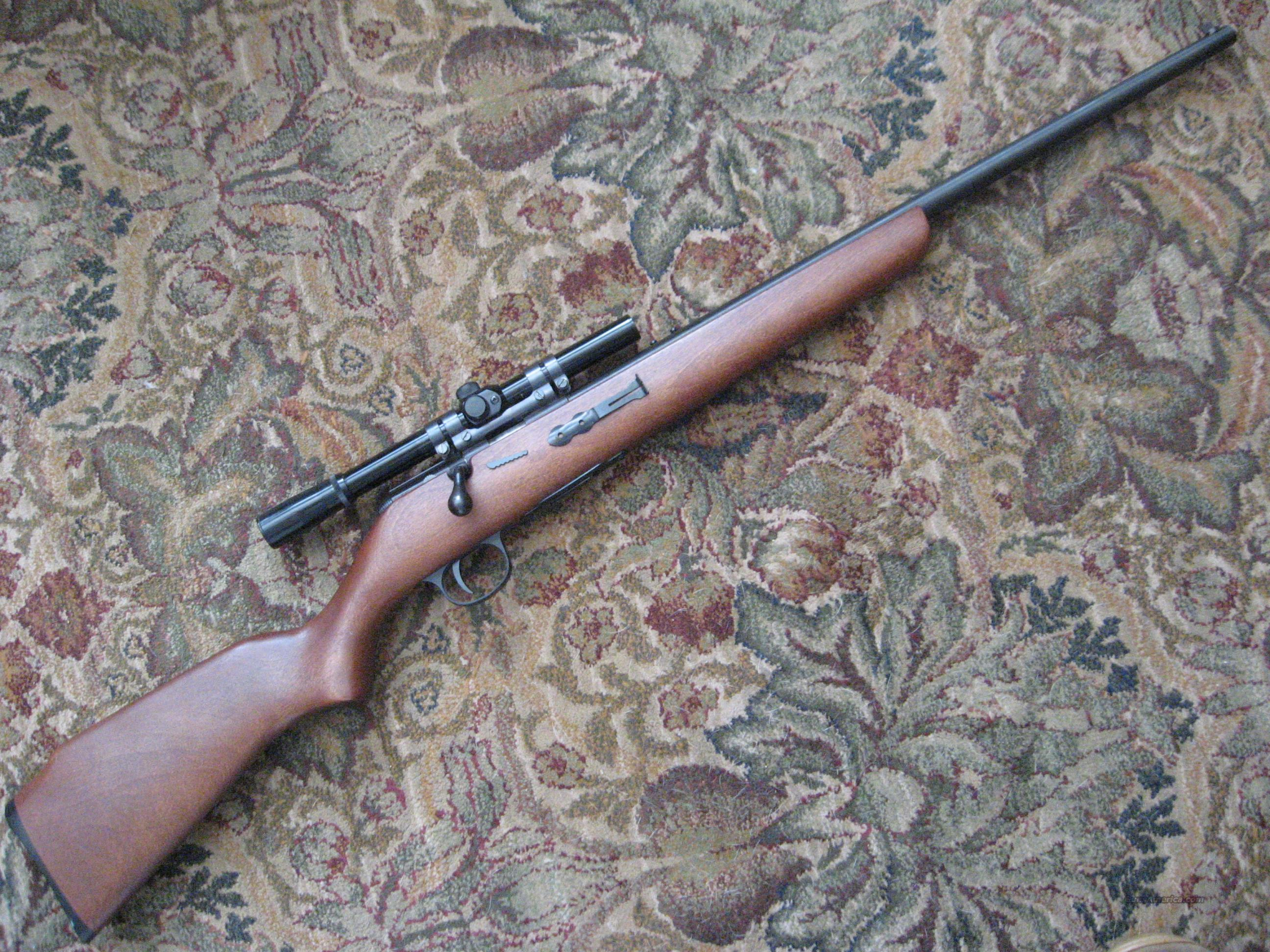 w/scope Mod. 865 Plainsman .22cal. bolt action repeater  Guns > Rifles > Harrington & Richardson Rifles