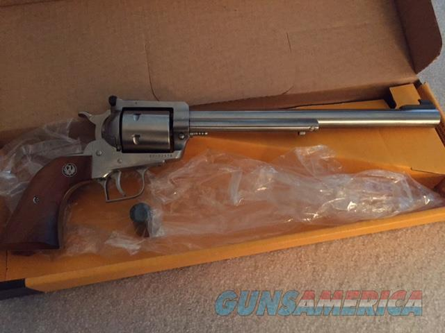 Ruger .44 Mag Stainless Super Blackhawk 10 1/2 BBL  Guns > Pistols > Ruger Single Action Revolvers > Blackhawk Type
