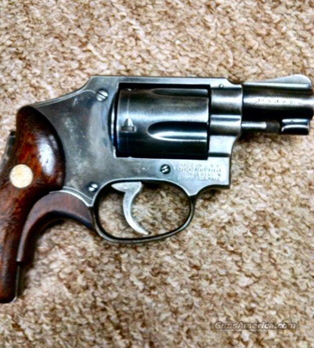 SMITH AND WESSON MODEL 40 1957 38 SPL  Guns > Pistols > Smith & Wesson Revolvers > Full Frame Revolver