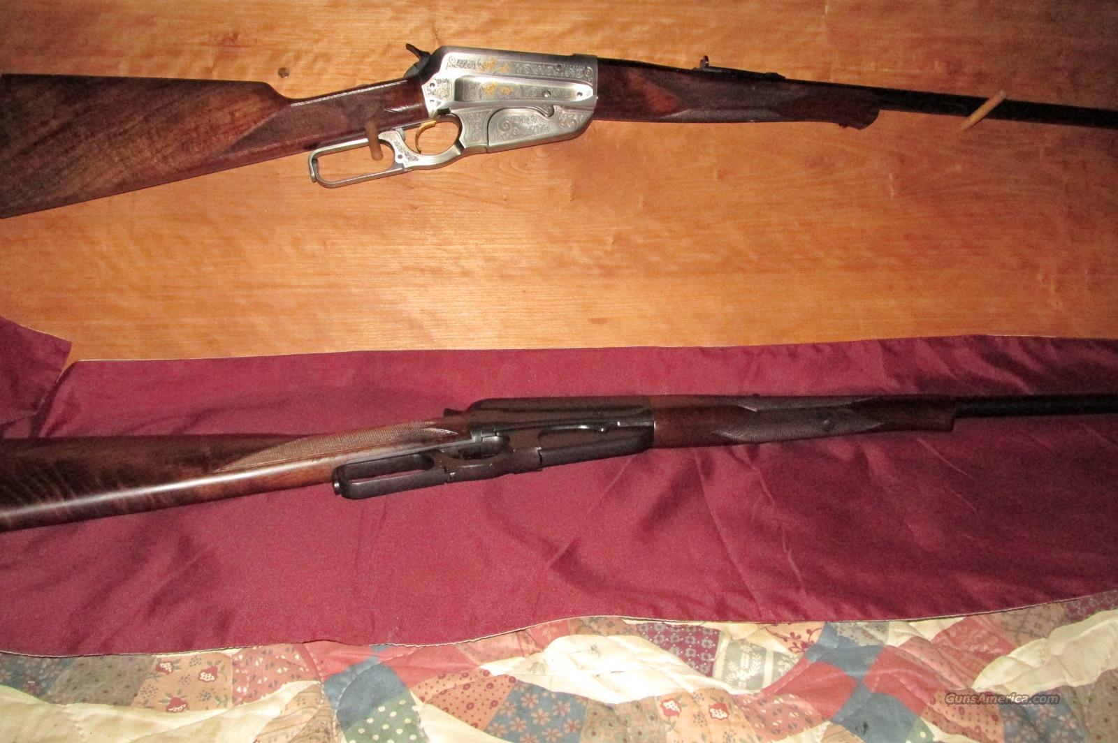 Winchester original 1895 imited Edition from 1995 centenial matched Set  Guns > Rifles > Winchester Rifle Commemoratives