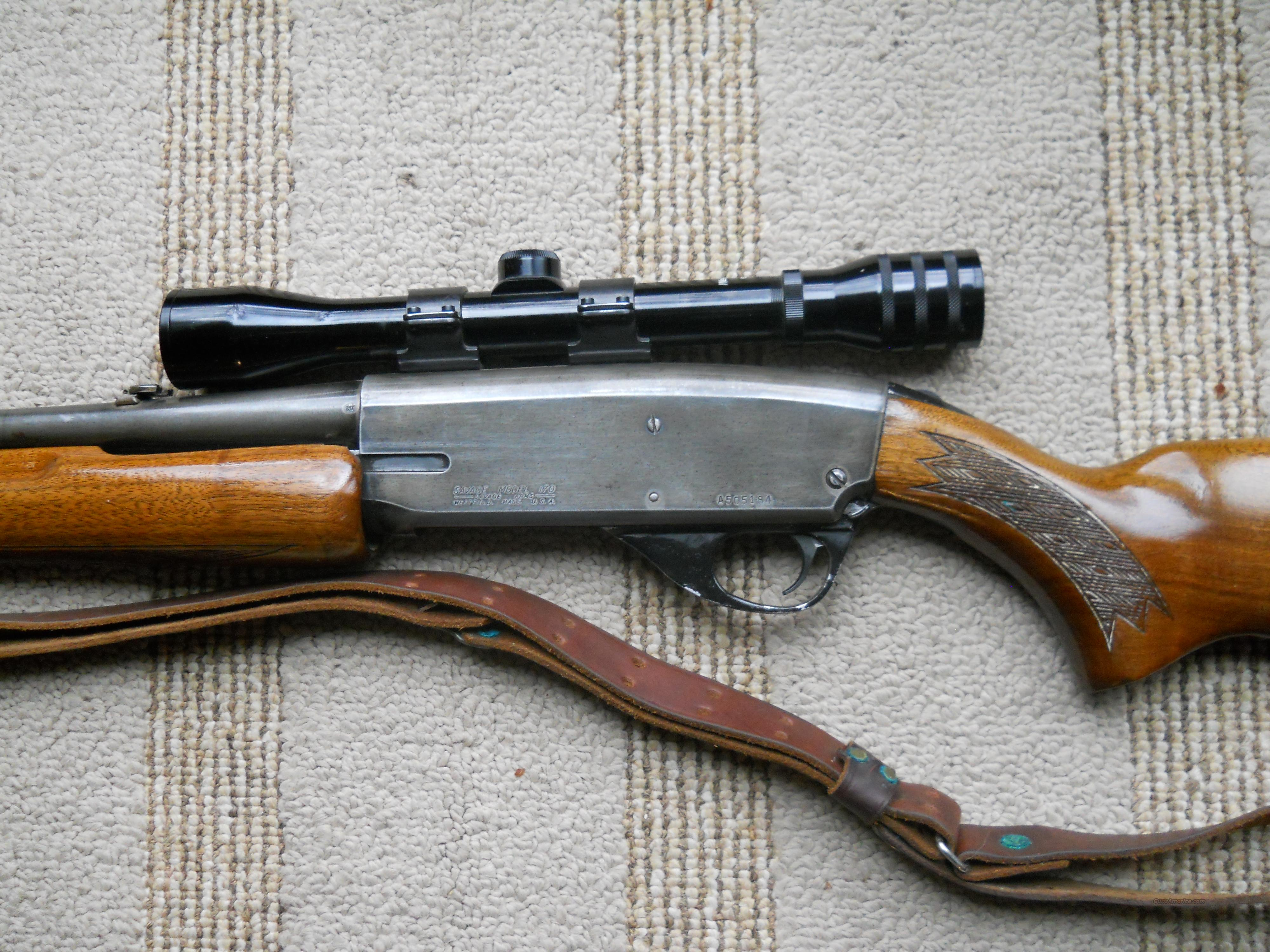 Savage Model 170 Pump Action 30-30 for sale