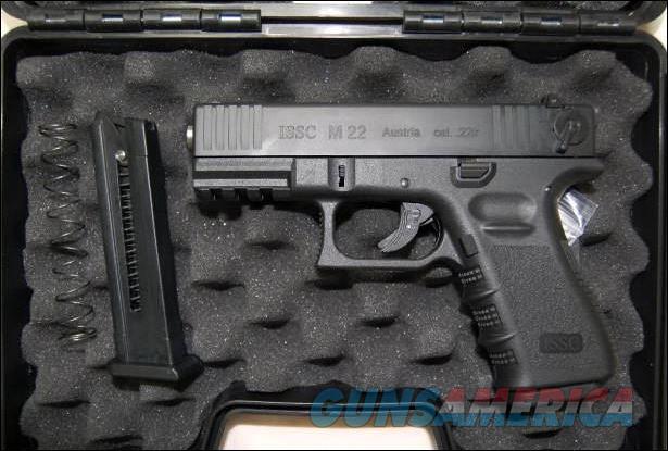 ISSC M22 .22 cal pistol  Guns > Pistols > ISSC Pistols