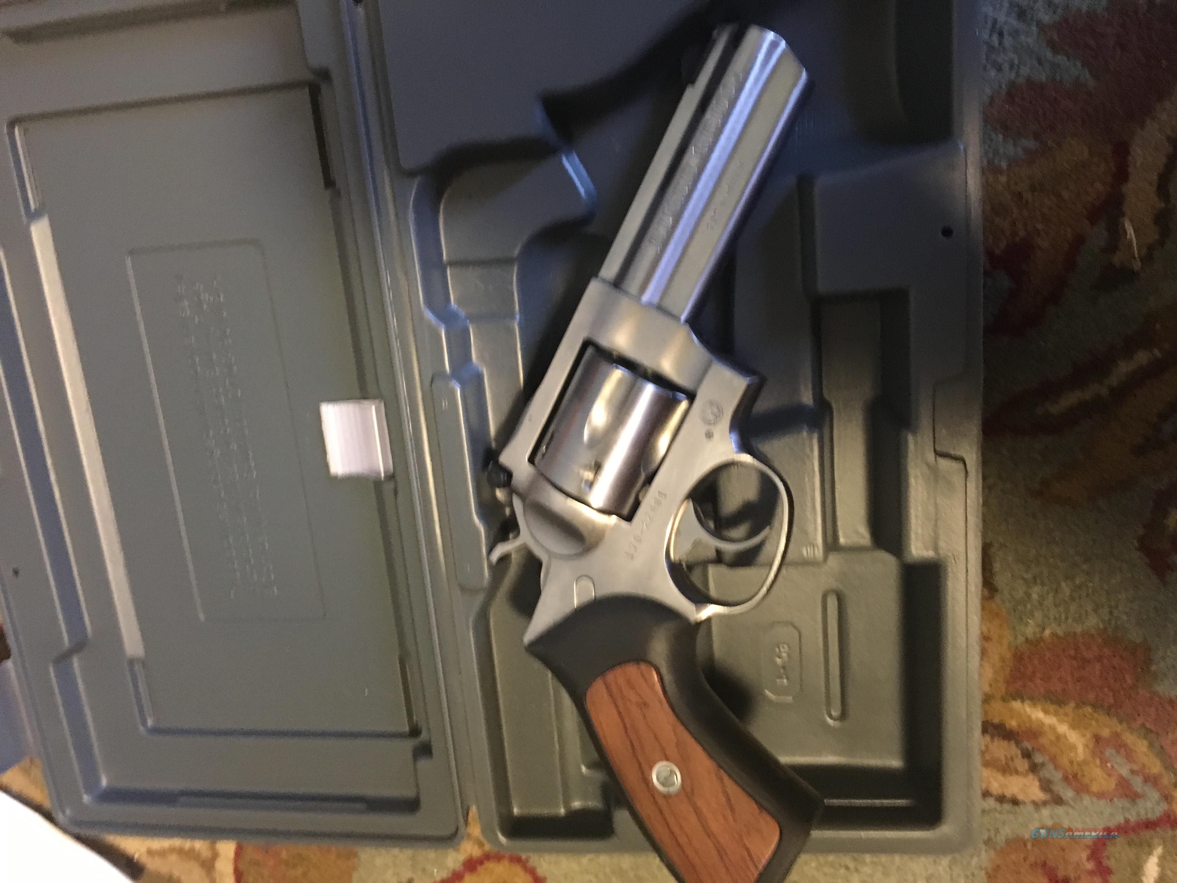 "Ruger GP100 4.2"" 357 Magnum 6 round double action stainless  Guns > Pistols > Ruger Double Action Revolver > GP100"