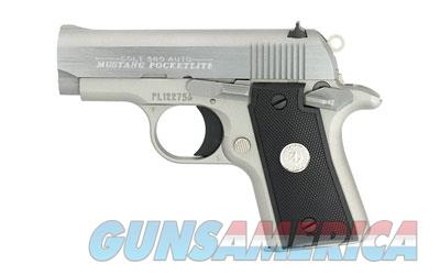 "Colt Mustang Compact 380ACP 2.75"" 6rds Stainless O6891  Guns > Pistols > Colt Automatic Pistols (.25, .32, & .380 cal)"