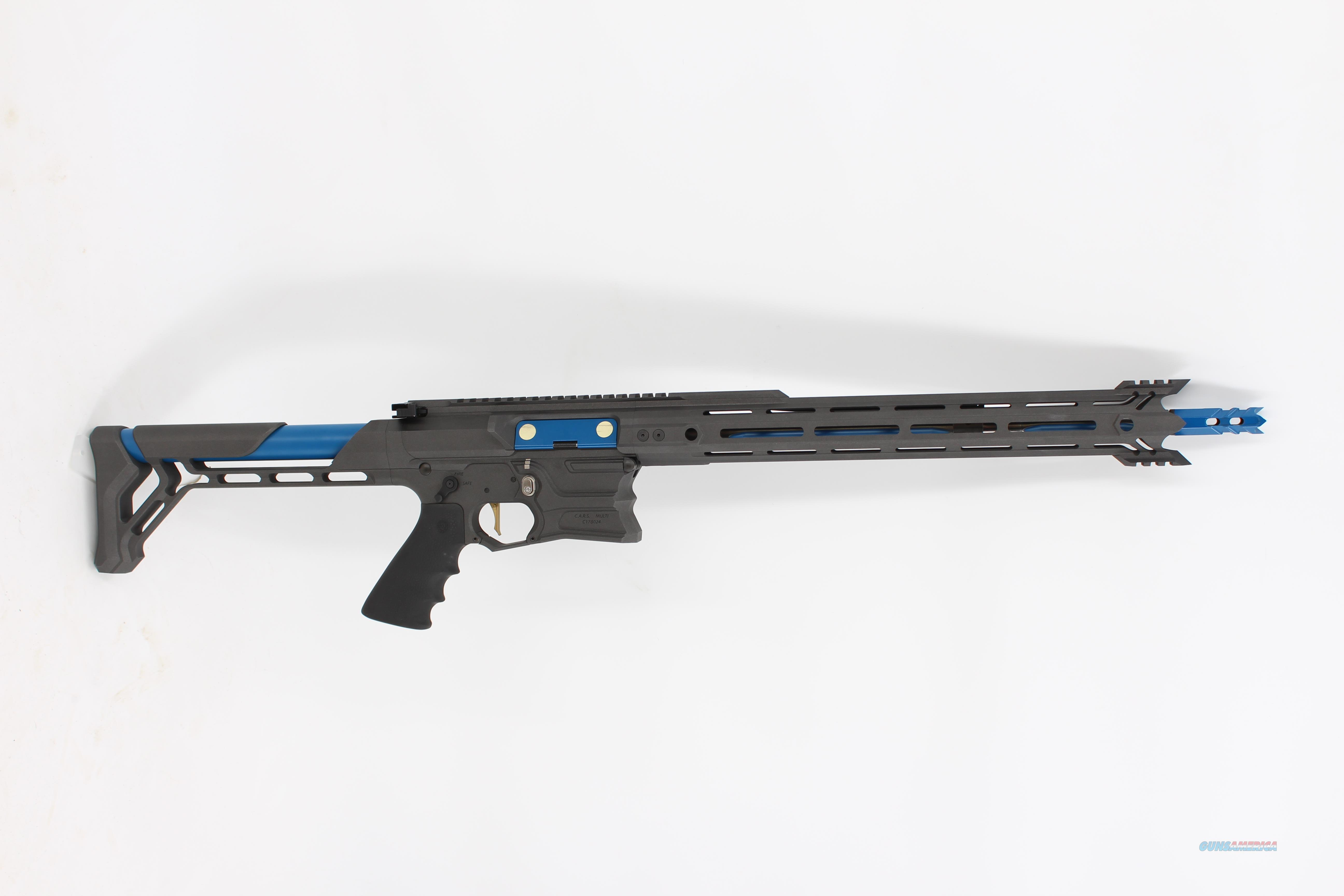 """Cobalt Kinetics Edge C.A.R.S. Gray/Blue 16""""   Guns > Rifles > O Misc Rifles"""