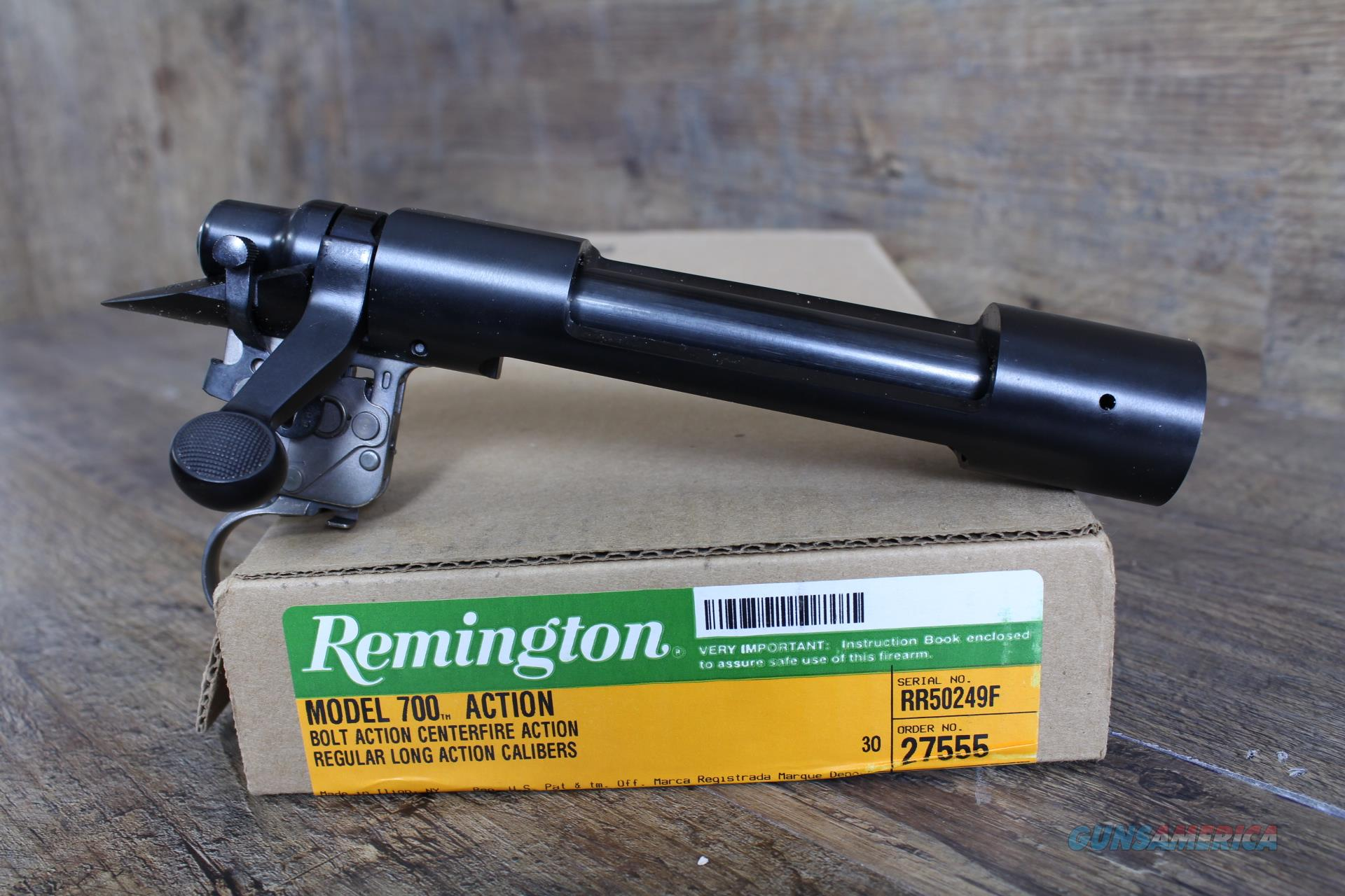 "Remington 700 LA Blued Receiver .473"" XMARK 27555  Guns > Rifles > Remington Rifles - Modern > Model 700 > Tactical"