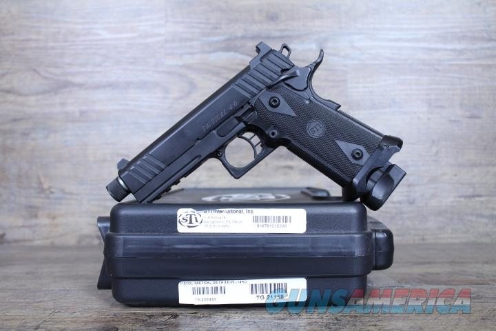 "NIB STI Tactical 4.15"" TB 2011 14+1 *Night Sights*  Guns > Pistols > STI Pistols"