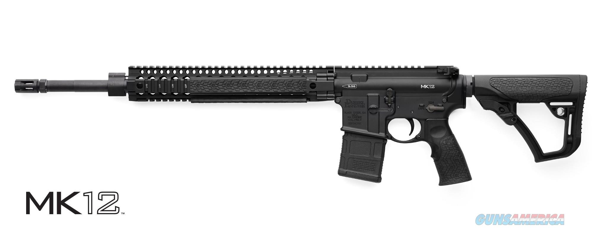 "NIB Daniel Defense Mk12 18"" 5.56 02-142-13175-047  Guns > Rifles > Daniel Defense > Complete Rifles"