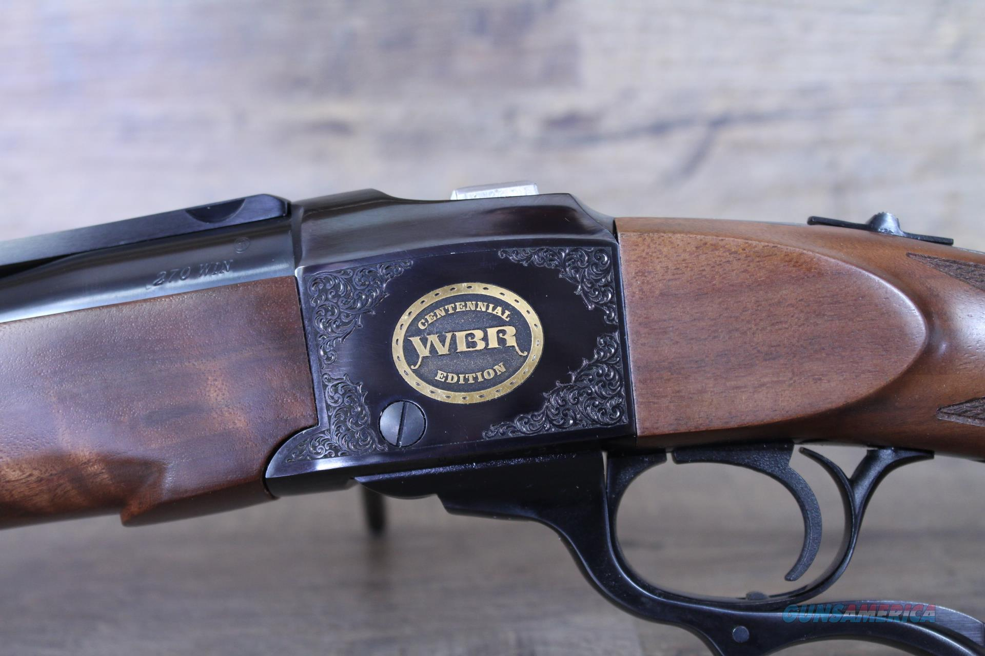 *One Of 100* Ruger No. 1 .270 100th Anny 11396  Guns > Rifles > Ruger Rifles > #1 Type