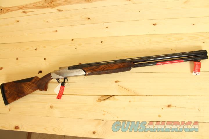 Benelli 828U 12/28 Over Under Shotgun Free Shipping  Guns > Shotguns > Benelli Shotguns > Trap/Skeet