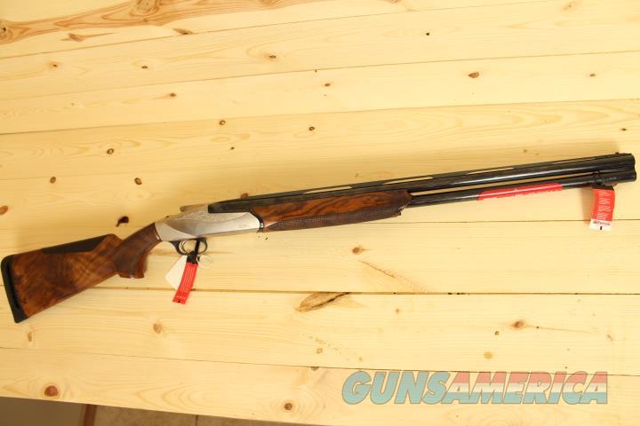 Benelli 828U 12/28 Over Under Shotgun Free Shipping  Guns > Shotguns > Benelli Shotguns > Trap/Skeet