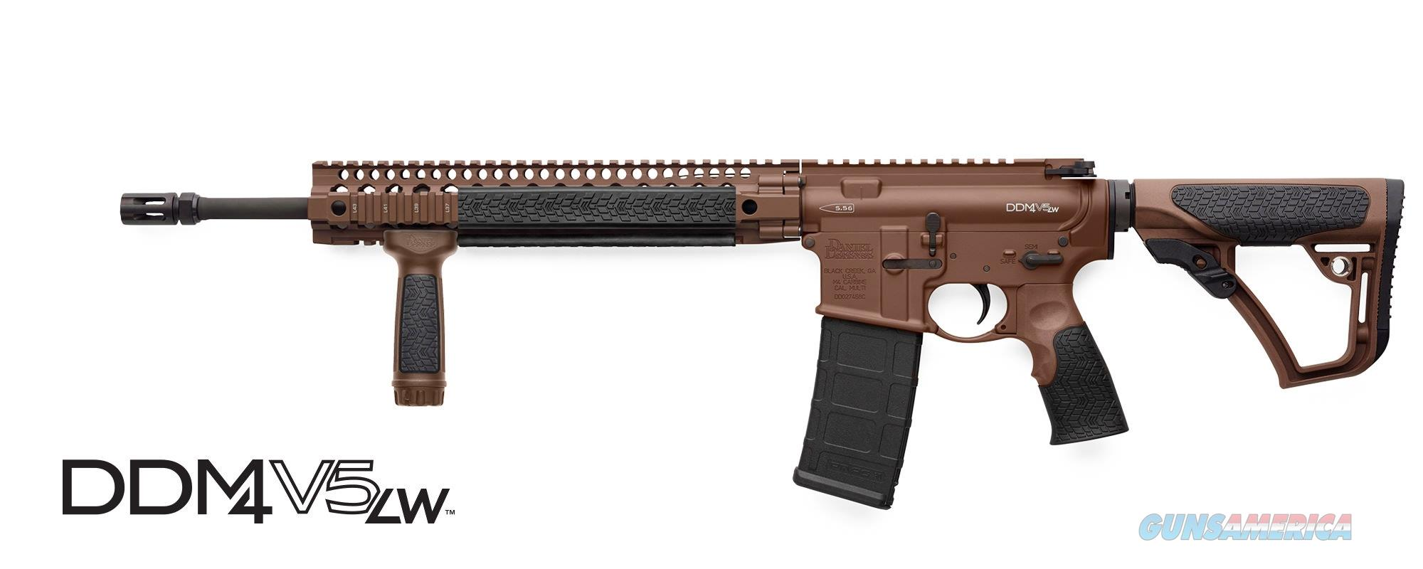 "Daniel Defense DDM4V5LW FDE 5.56 16"" 02-123-13028-047   Guns > Rifles > Daniel Defense > Complete Rifles"