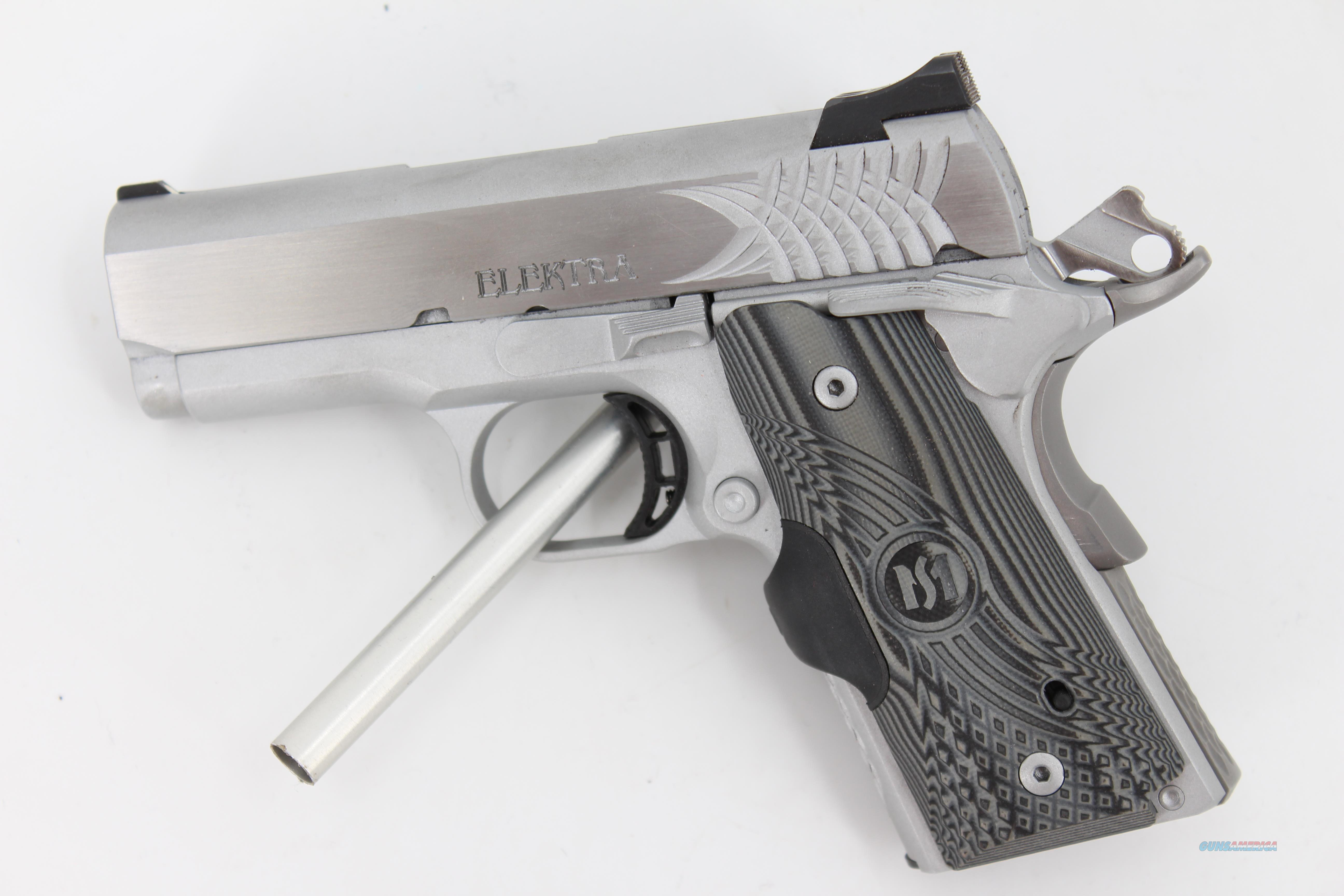 STI Elektra Stainless 9mm w/ Crimson Trace Grips  Guns > Pistols > STI Pistols