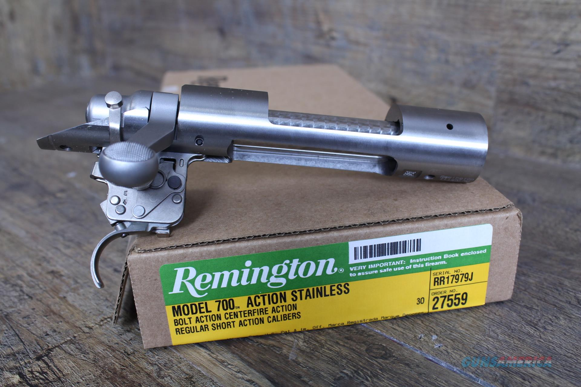 "Remington 700 SA Stainless Receiver .473"" 27559 w/ XMARK Pro Trigger  Guns > Rifles > Remington Rifles - Modern > Model 700 > Tactical"