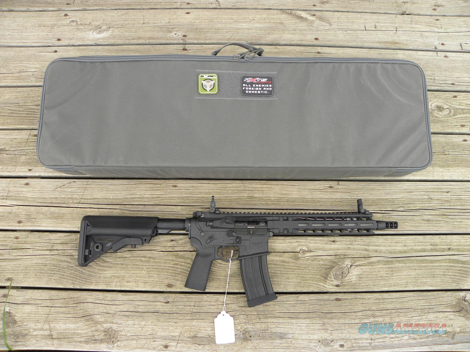 "AXTS Mi-T556S 10.5"" SBR Milled MLOK AR Gold MK18, Short Barreled Rifle, Silencer Ready,Knights  Guns > Rifles > A Misc Rifles"