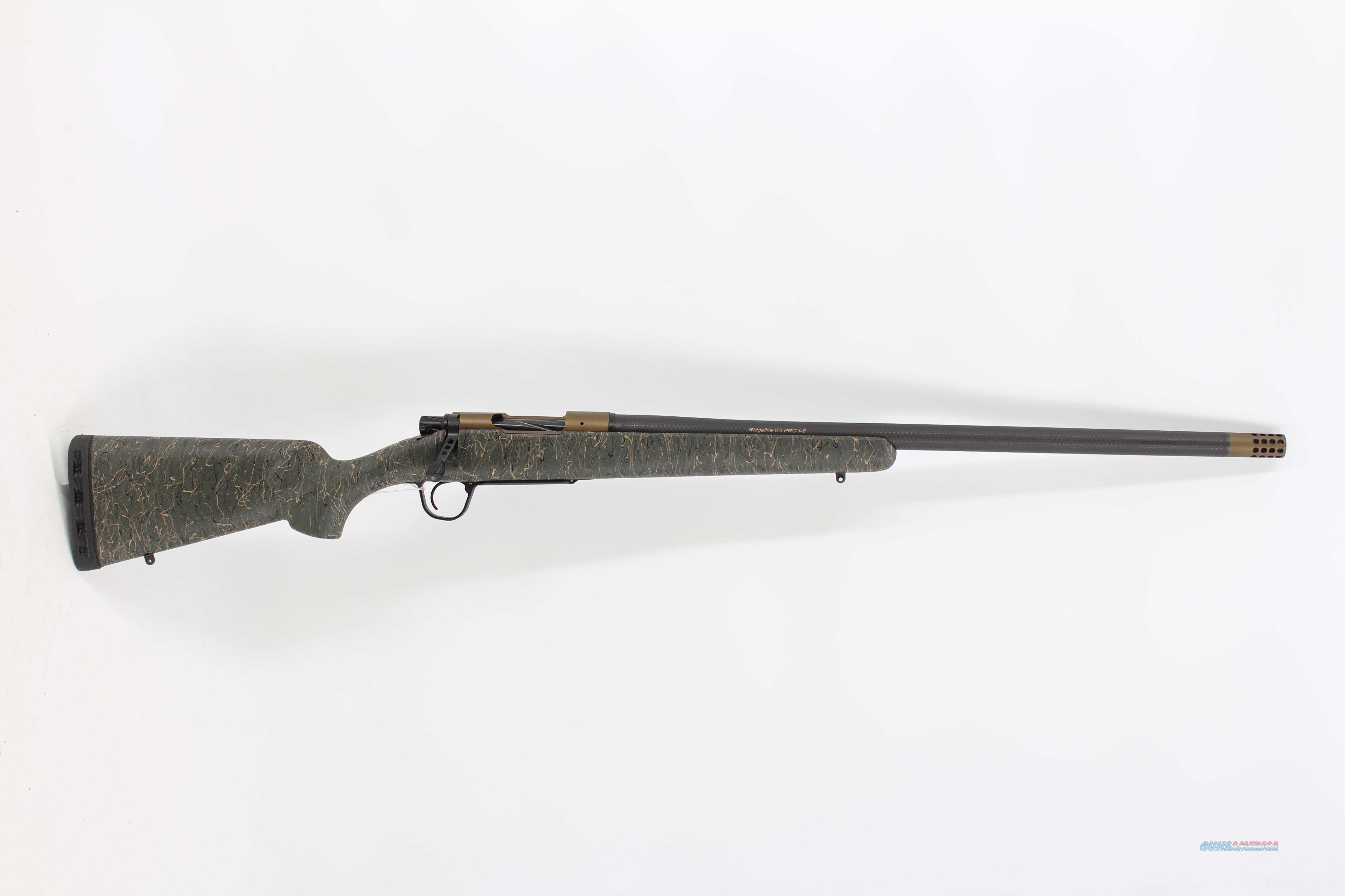 Christensen Arms Ridgeline Carbon 6.5PRC Grn/Tan/Blk  Guns > Rifles > C Misc Rifles