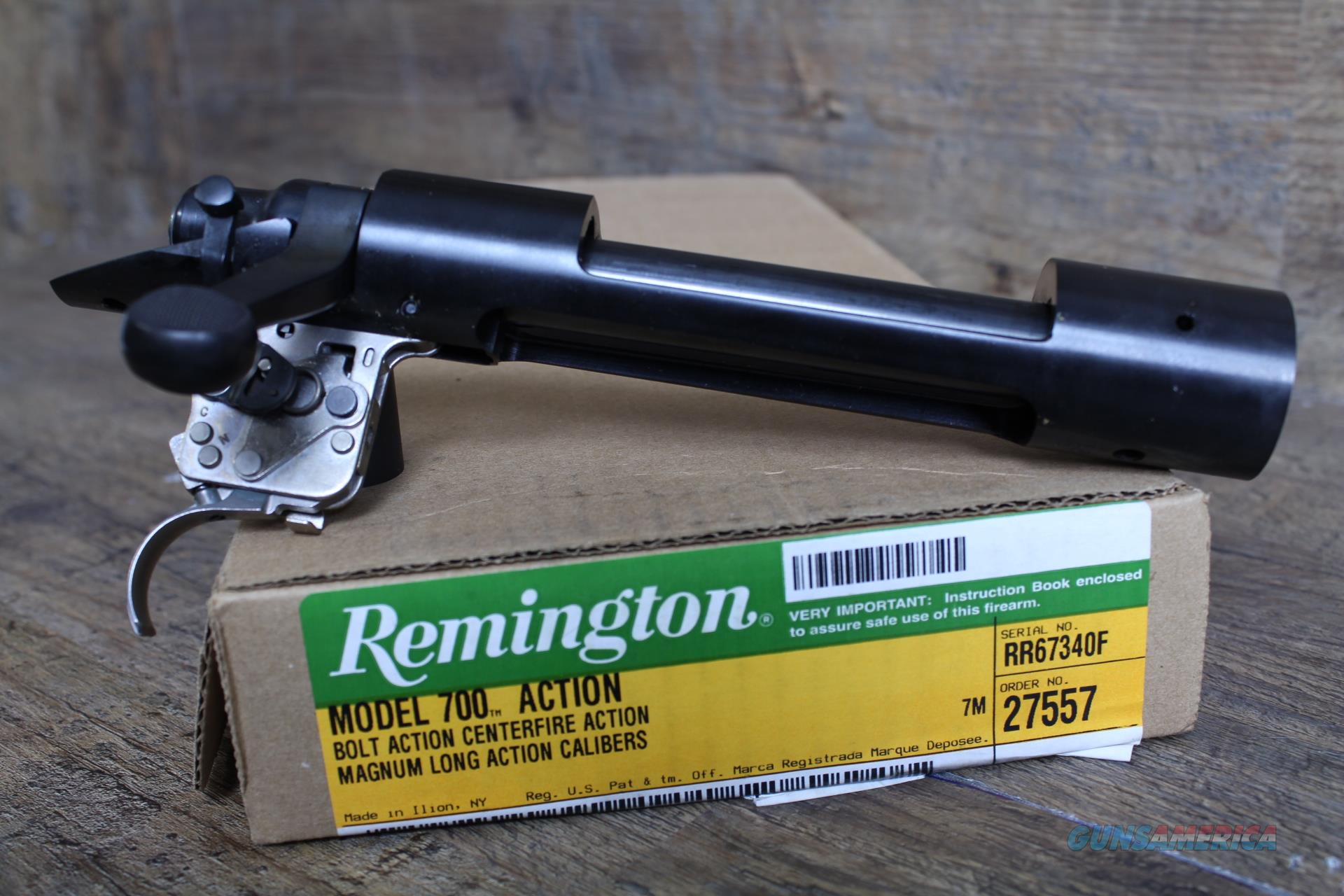 "Remington 700 LA MAG Blued Receiver .550"" 27557  Guns > Rifles > Remington Rifles - Modern > Model 700 > Tactical"