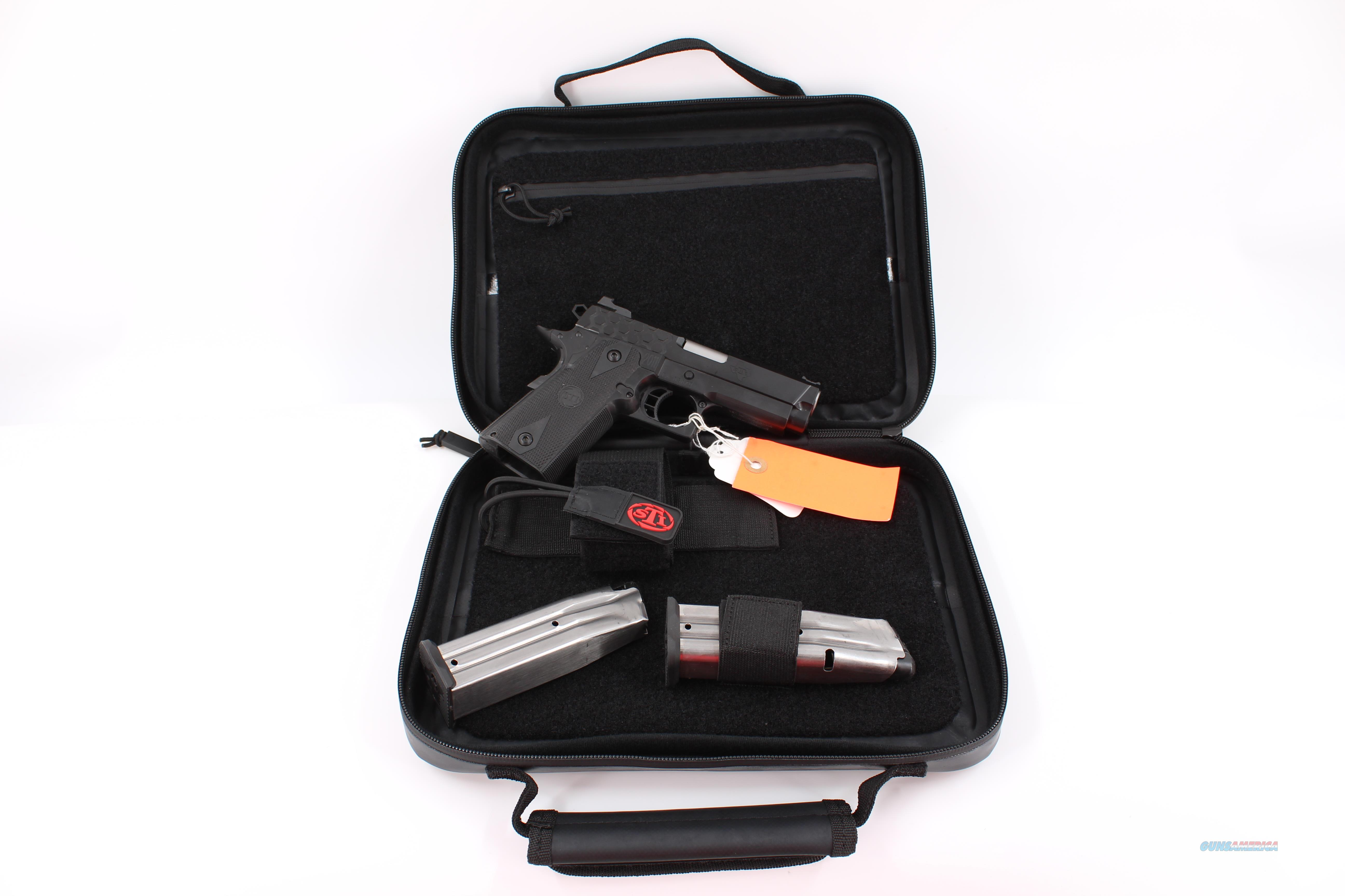 "STI Hex Tac DS 3.75"" 2011 9mm 10-553000  Guns > Pistols > STI Pistols"