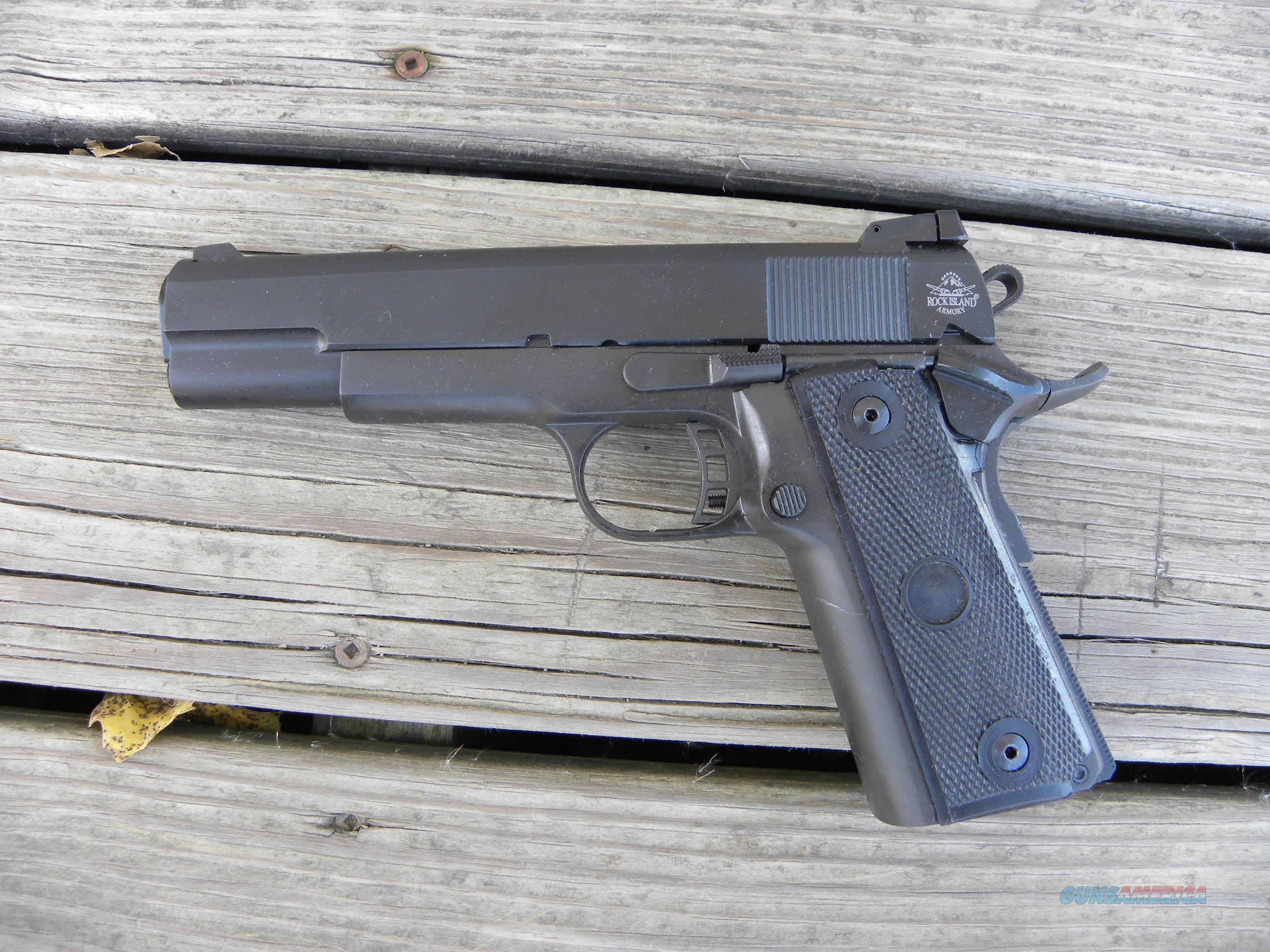 Rock Island 1911 9mm .22tcm  Guns > Pistols > Armscor Pistols