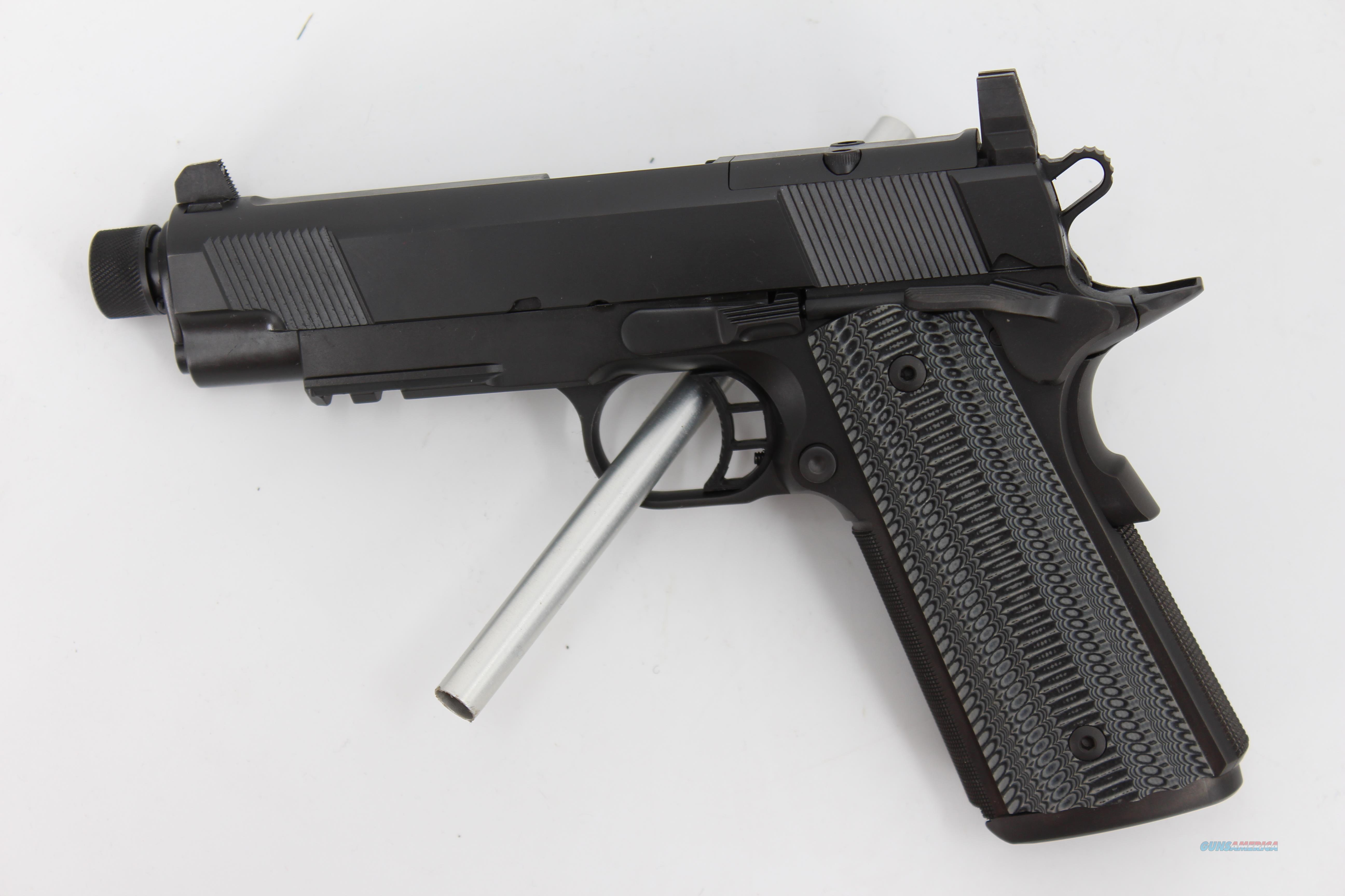 STI HOST Tactical SS TR 4.0 45ACP 8+1  Guns > Pistols > STI Pistols