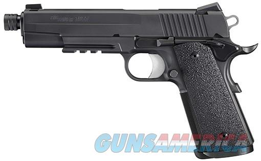 NIB Sig Sauer 1911 Tac Ops Threaded 8+1 4 mags NS  Guns > Pistols > Sig - Sauer/Sigarms Pistols > 1911