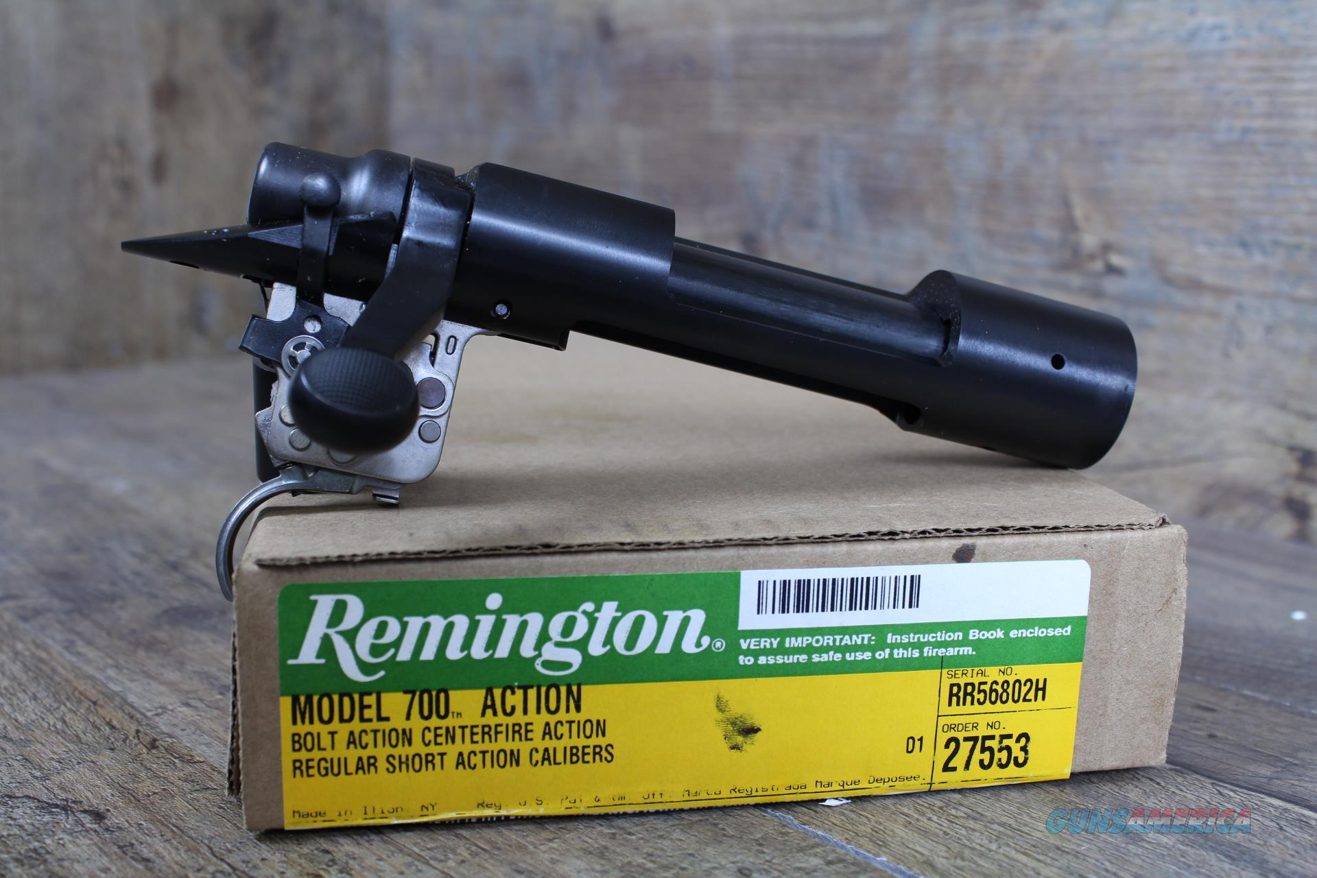"Remington 700 SA Blued Receiver .473"" 27553 w/ XMARK Trigger  Guns > Rifles > Remington Rifles - Modern > Model 700 > Tactical"