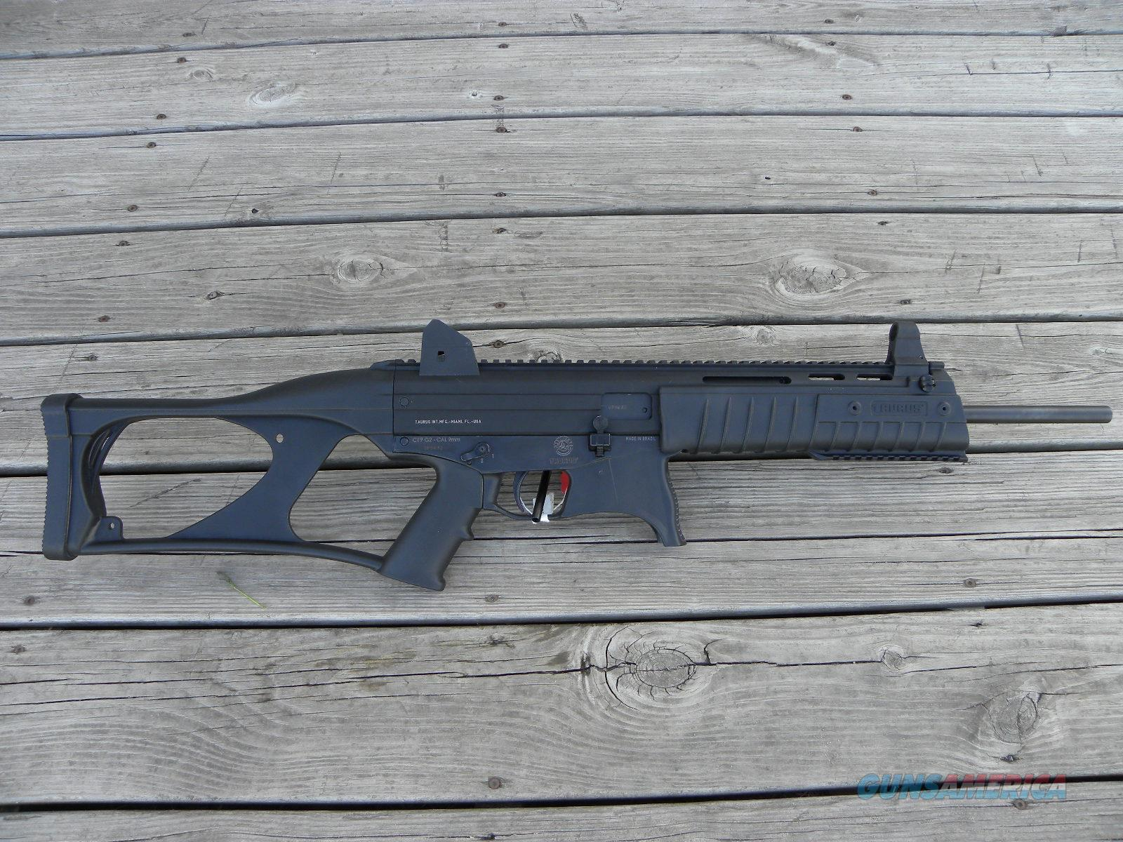 Taurus CTG2 9mm Carbine 10+1 Sights Included  Guns > Rifles > Taurus Rifles