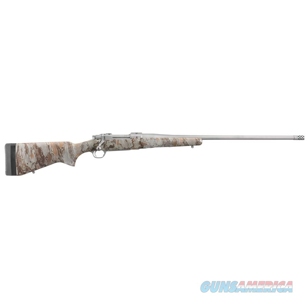 "NIB Ruger M77 Hawkeye NG Camo 24"" 6.5CM 47170  Guns > Rifles > Ruger Rifles > Model 77"