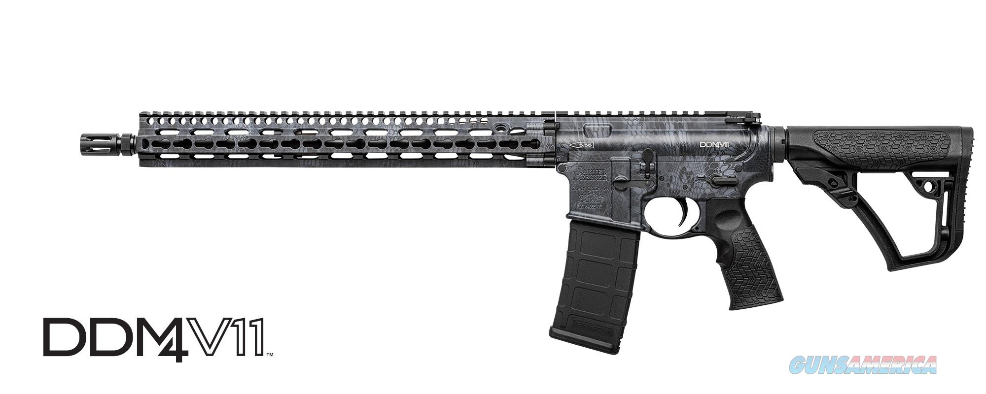 "NEW Daniel Defense V11 Kryptek Typhon 16""  Guns > Rifles > Daniel Defense > Complete Rifles"