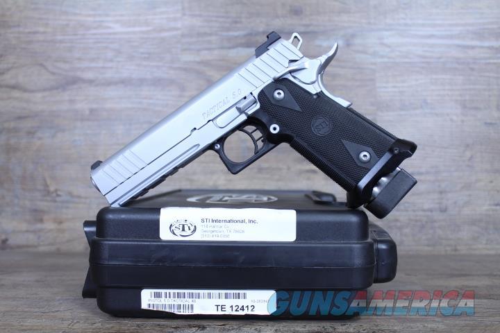 NIB STI 5.0 Tactical .40 14+1 SS   Guns > Pistols > STI Pistols