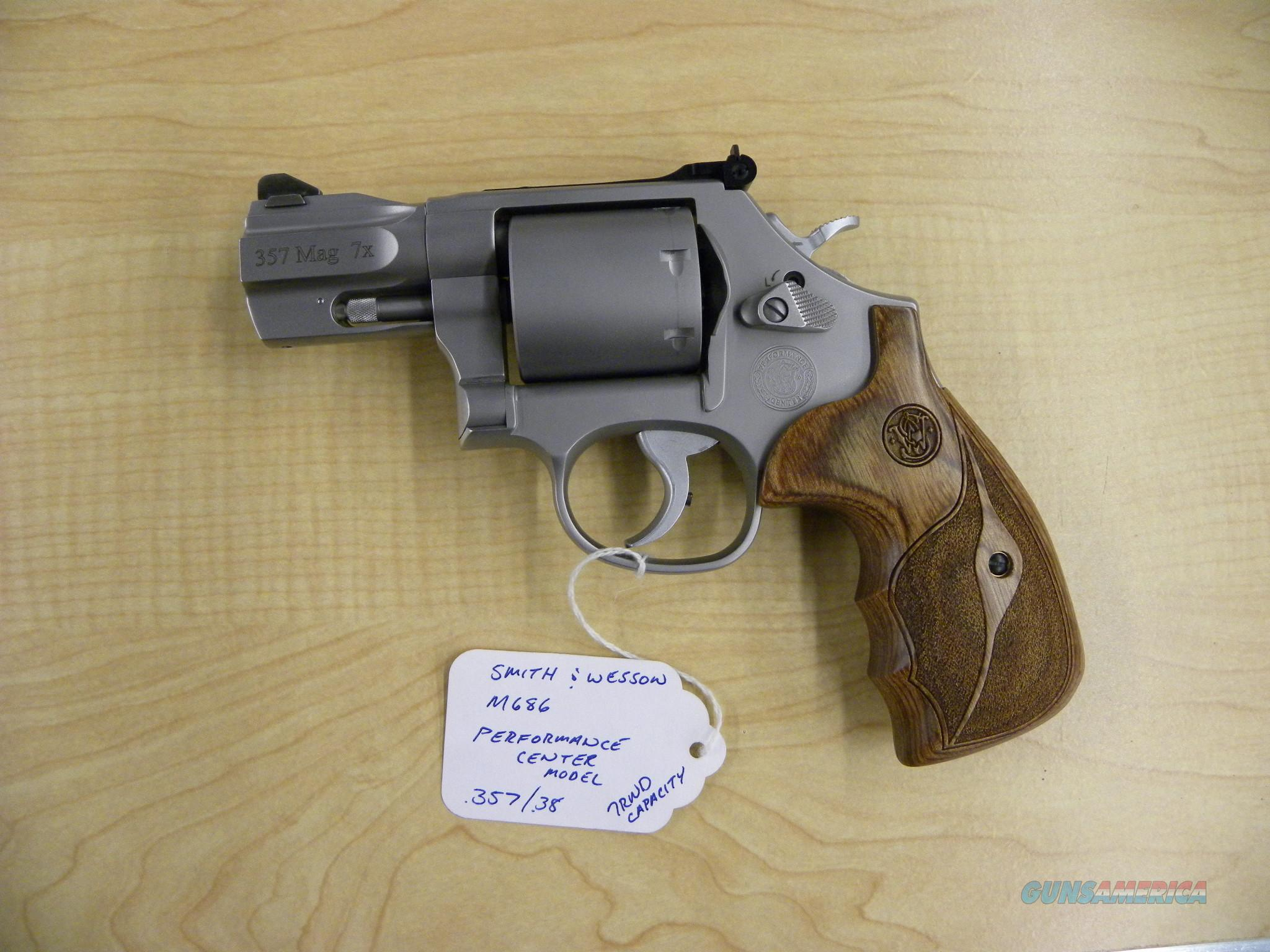 "Smith and Wesson M686 PC 2.5"" 357/38 170346  Guns > Pistols > Smith & Wesson Revolvers > Performance Center"